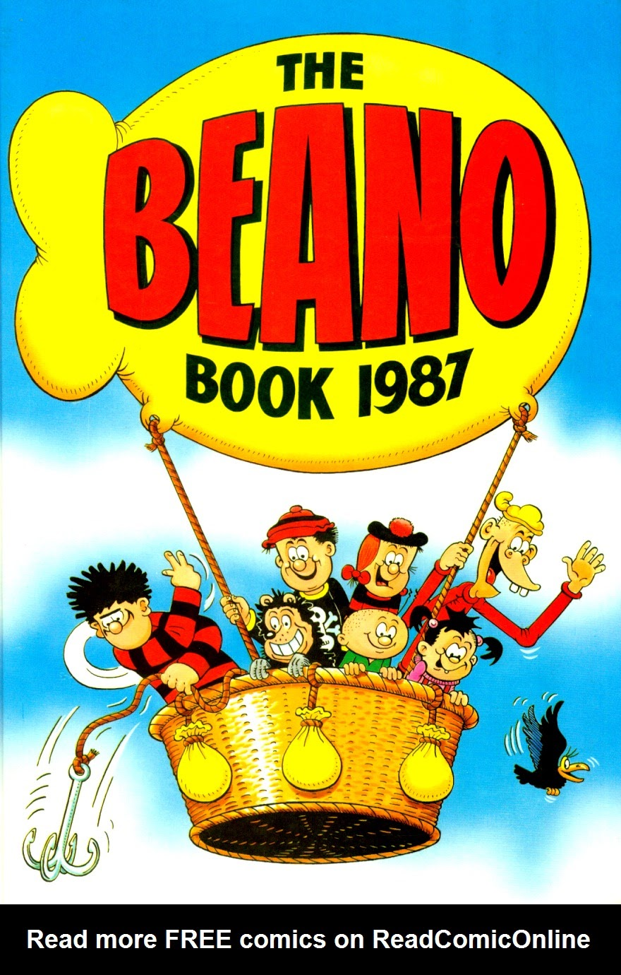 The Beano Book (Annual) 1987 Page 1