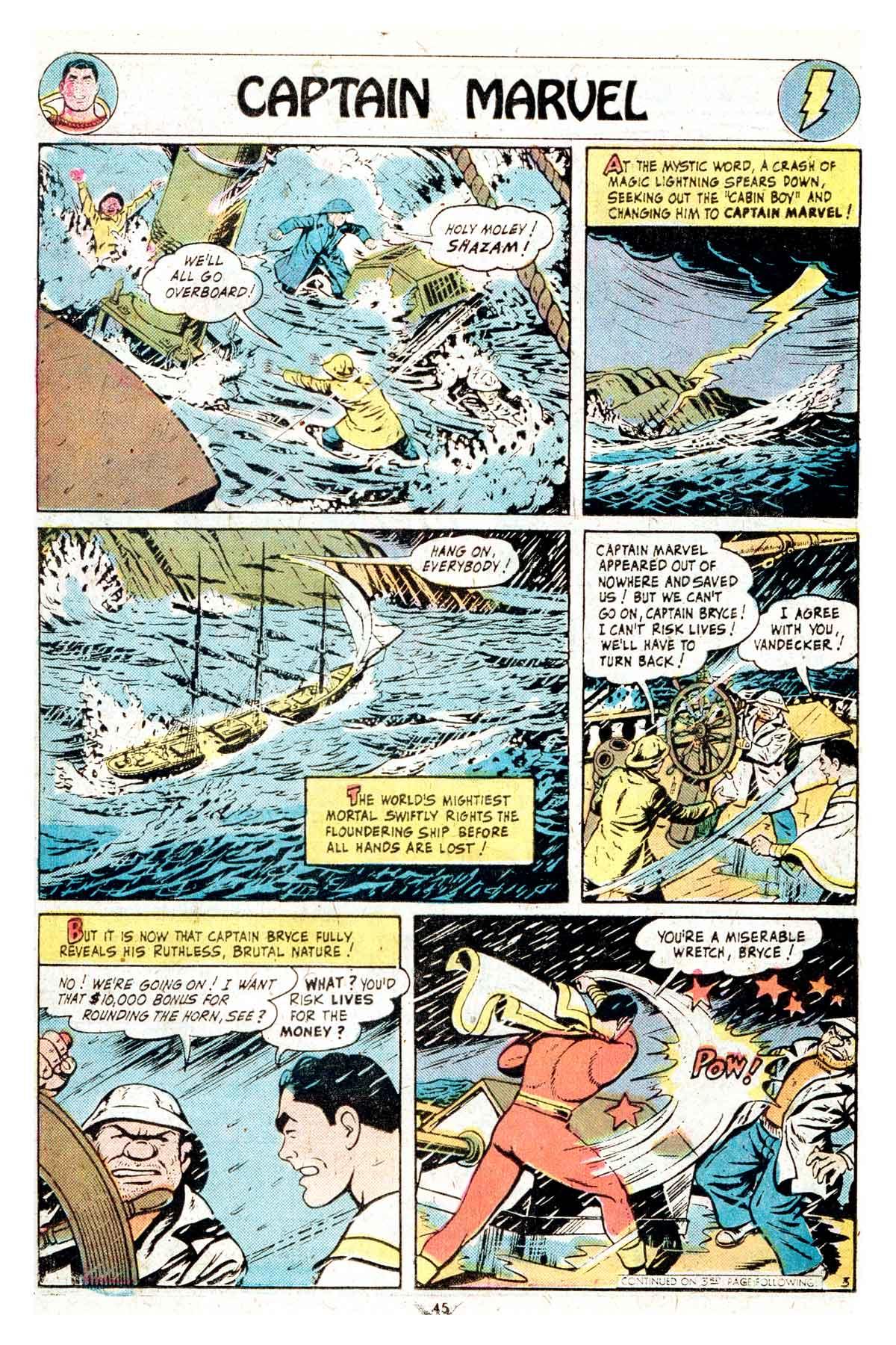 Read online Shazam! (1973) comic -  Issue #17 - 45