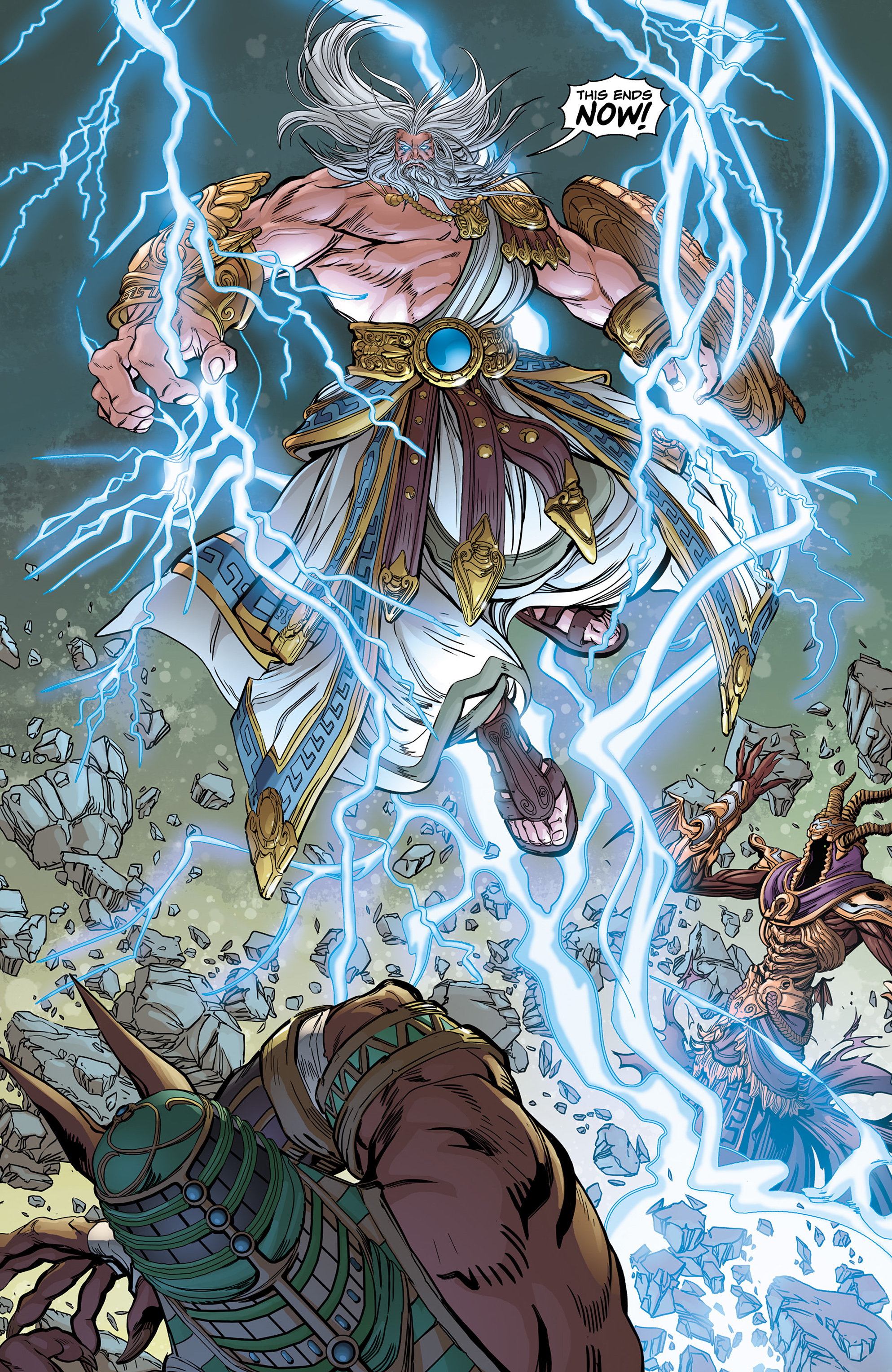 Read online SMITE: The Pantheon War comic -  Issue #1 - 9