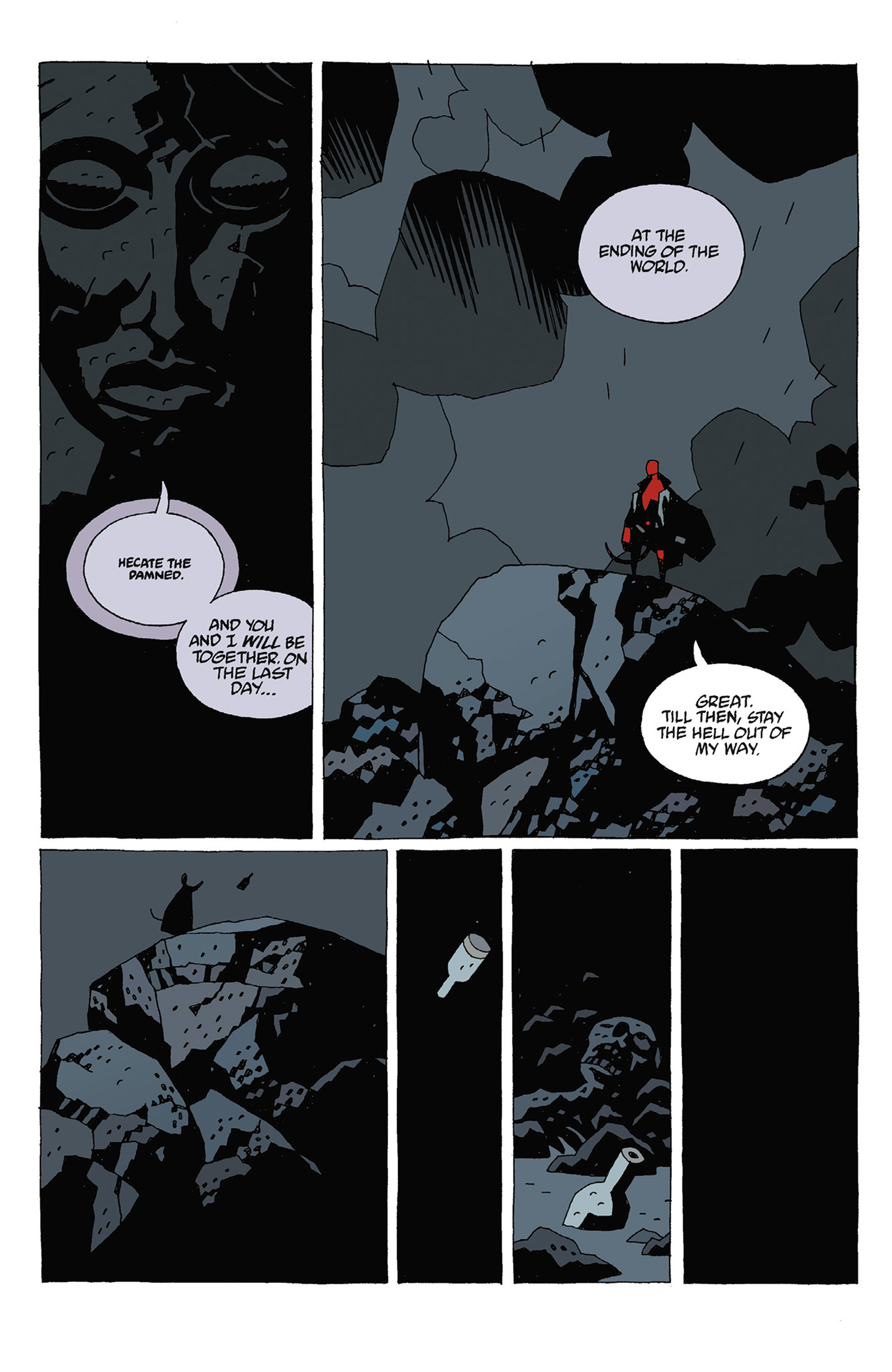 Read online Hellboy: Strange Places comic -  Issue # TPB - 78