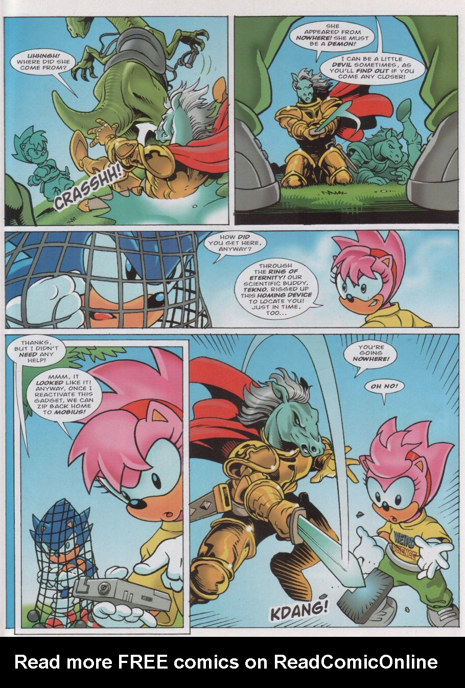 Read online Sonic the Comic comic -  Issue #160 - 4