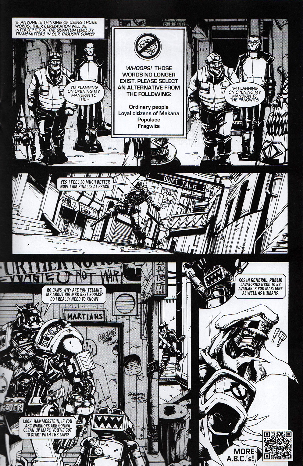 Read online Free Comic Book Day 2017 comic -  Issue # 2000 AD prog - 14
