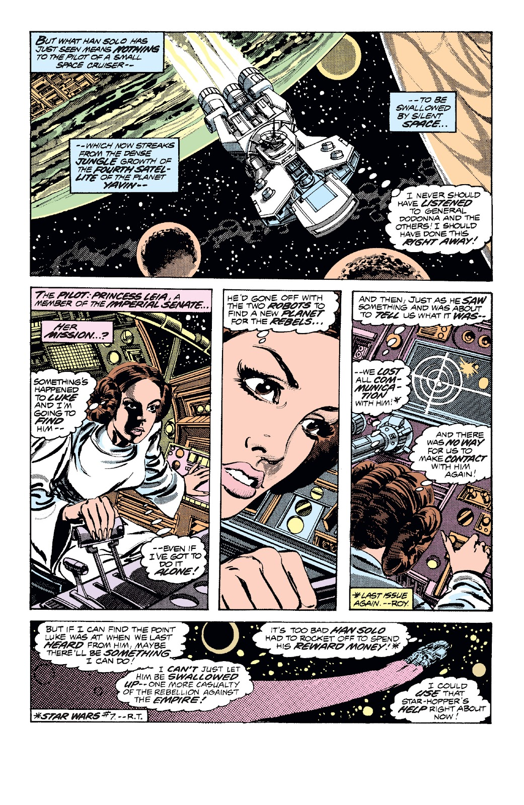 Read online Star Wars Legends: The Original Marvel Years - Epic Collection comic -  Issue # TPB 1 (Part 2) - 82