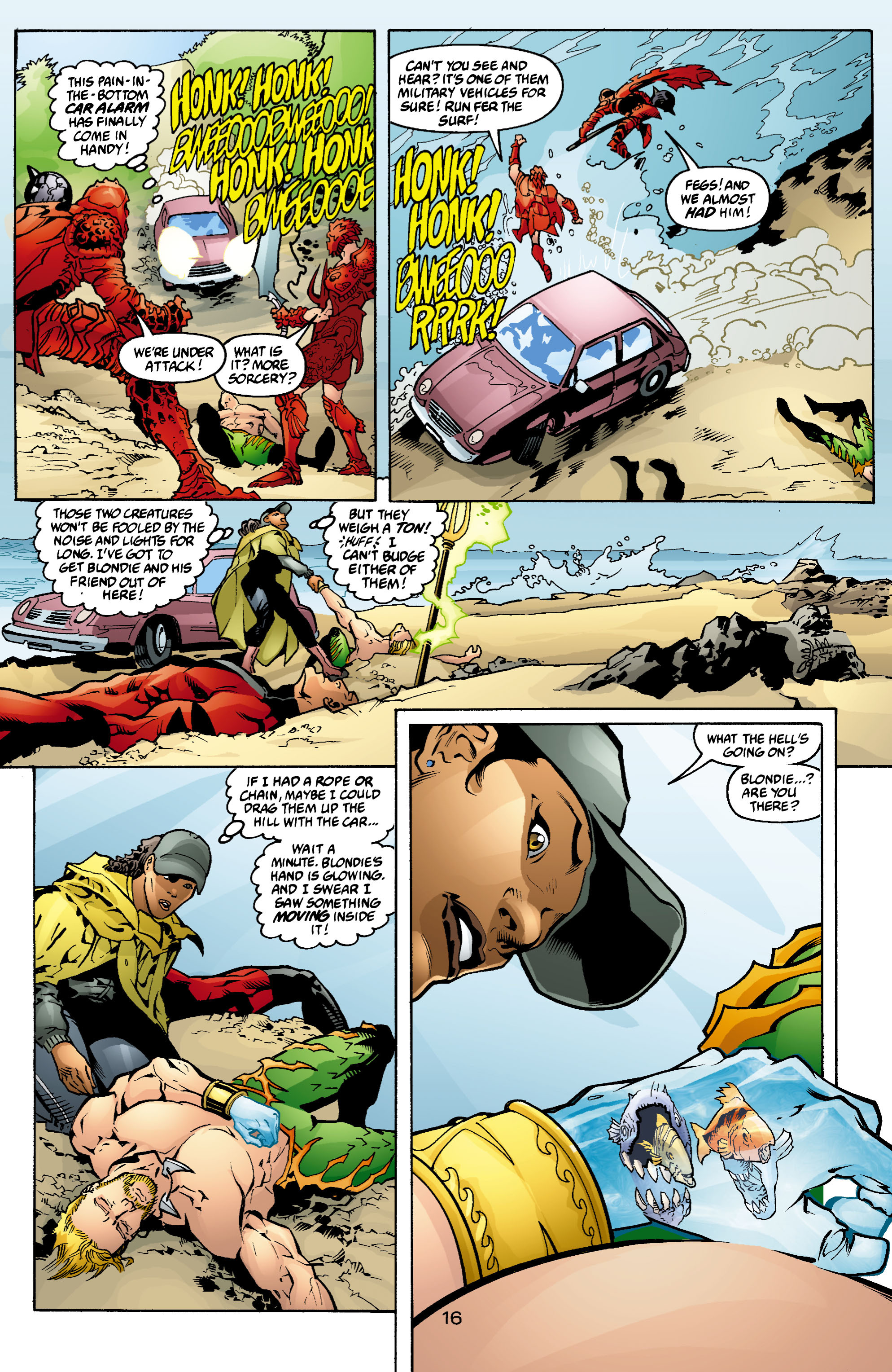 Read online Aquaman (2003) comic -  Issue #4 - 17