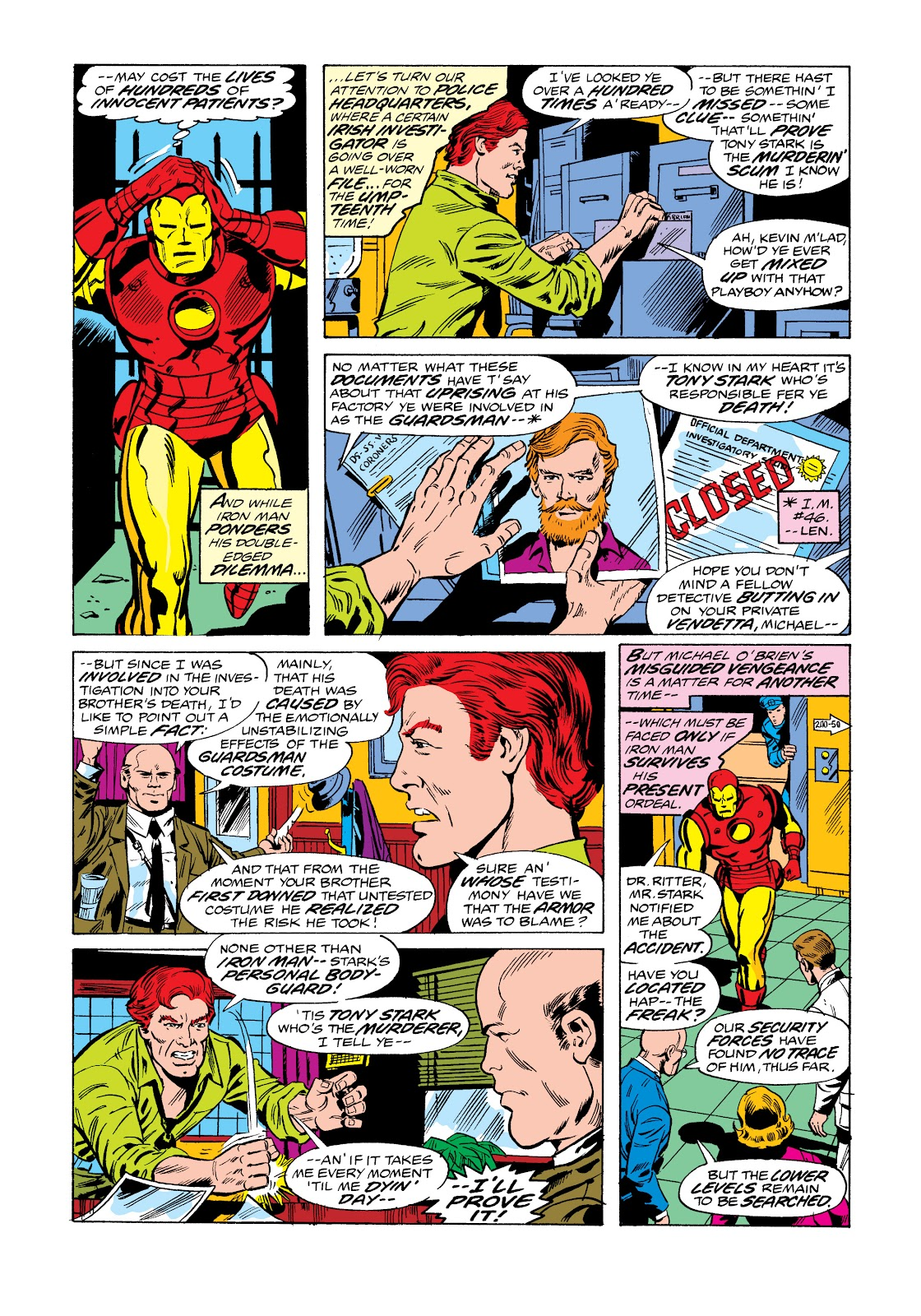 Read online Marvel Masterworks: The Invincible Iron Man comic -  Issue # TPB 11 (Part 1) - 54