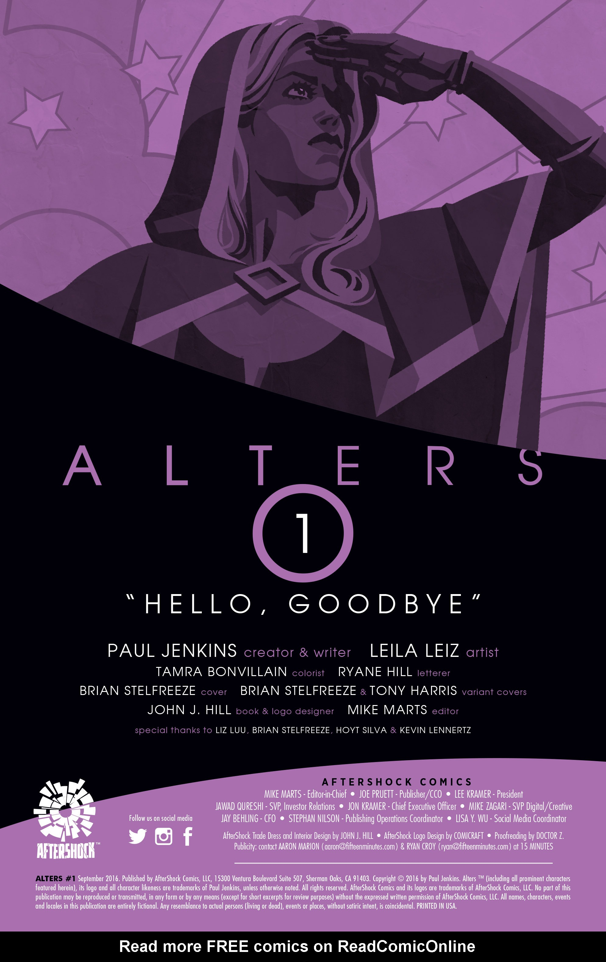 Read online Alters comic -  Issue #1 - 2