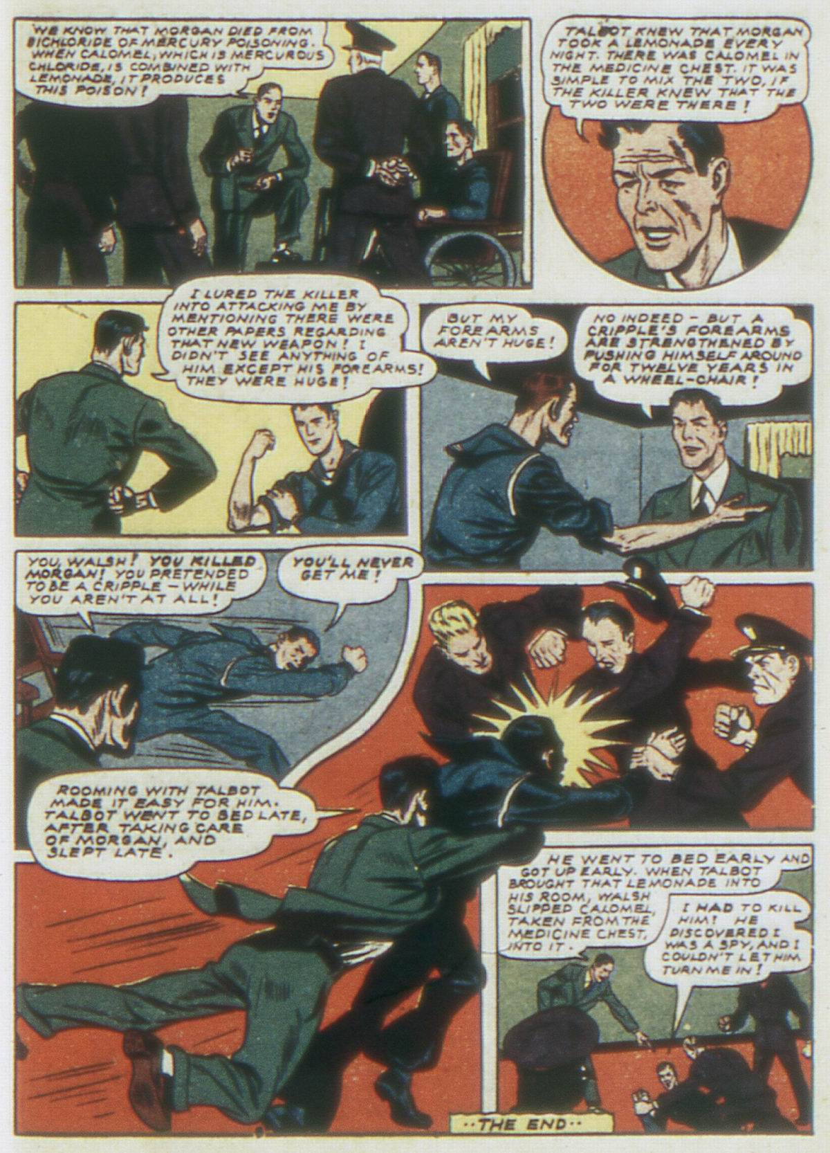 Read online Detective Comics (1937) comic -  Issue #62 - 57