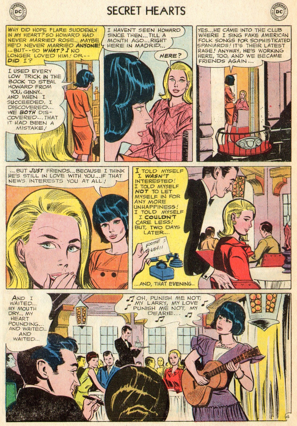 Read online Secret Hearts comic -  Issue #103 - 6
