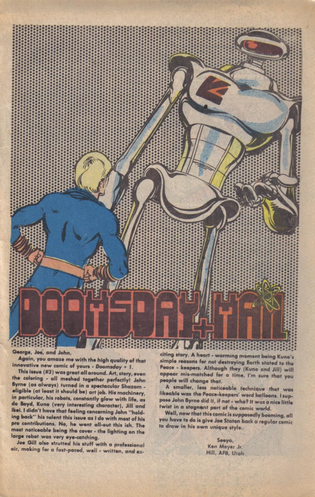 Read online Doomsday   1 (1975) comic -  Issue #11 - 31