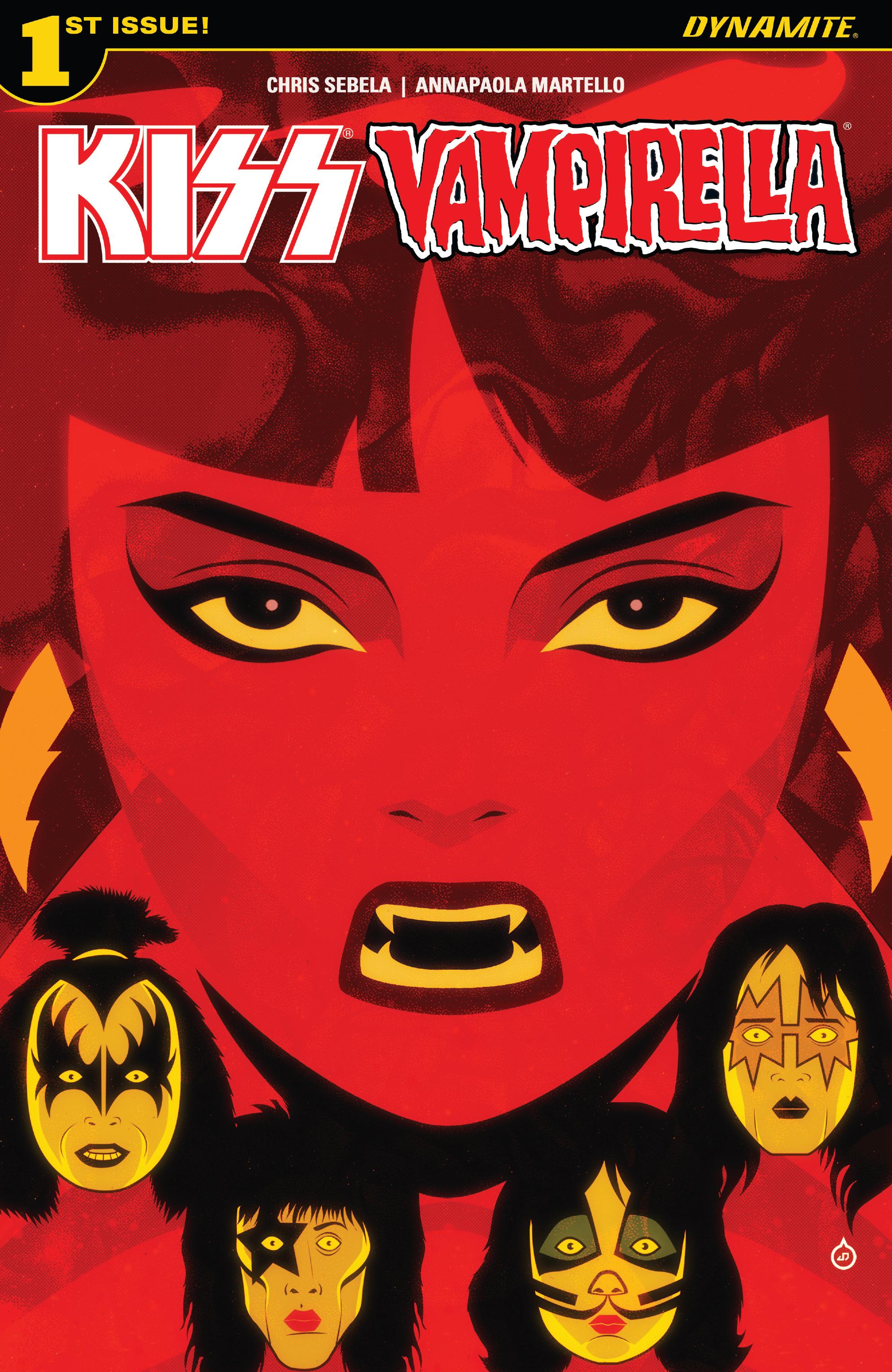 Read online Kiss/Vampirella comic -  Issue #1 - 1