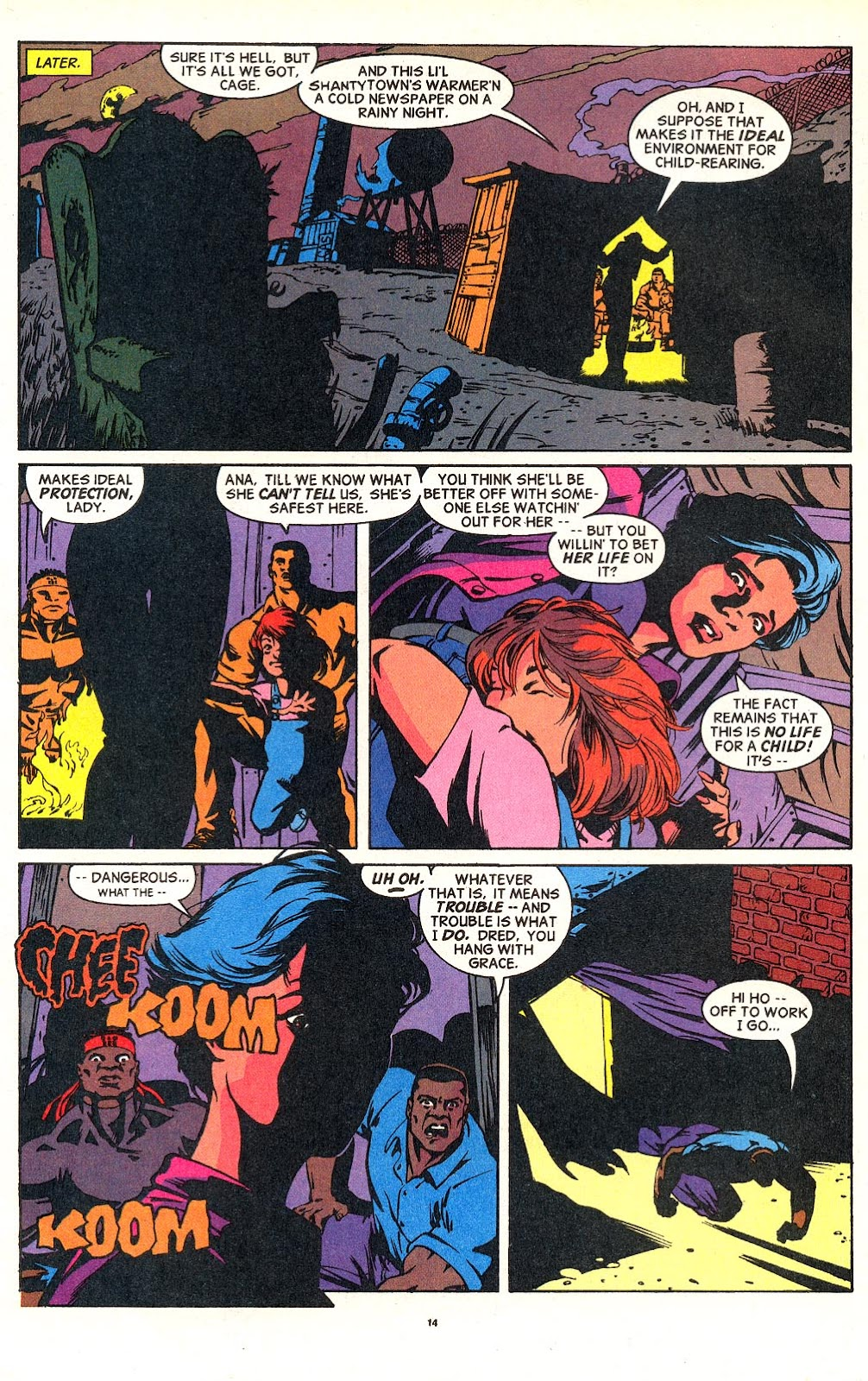 Cage (1992) issue 18 - Page 11