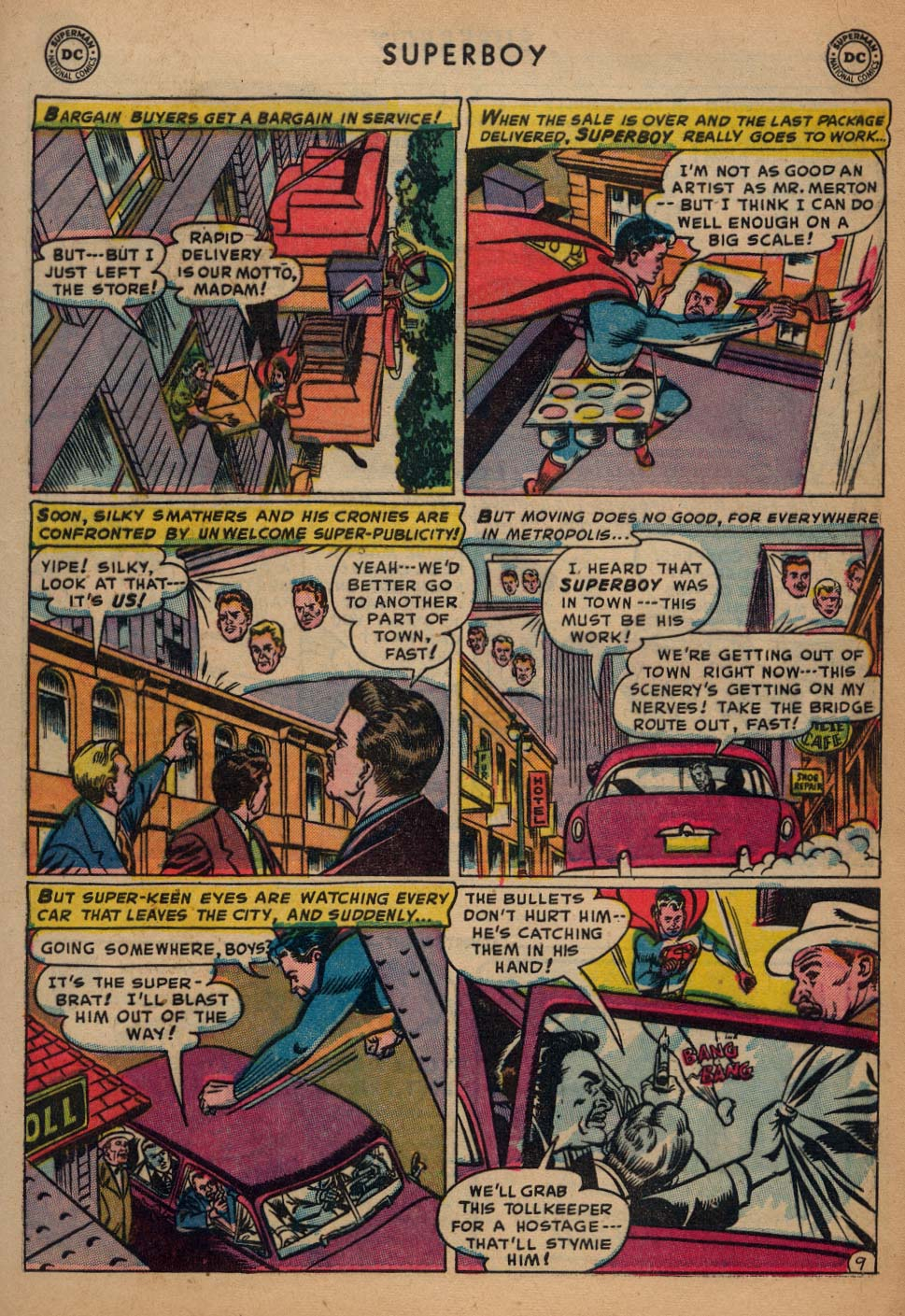 Superboy (1949) issue 25 - Page 10