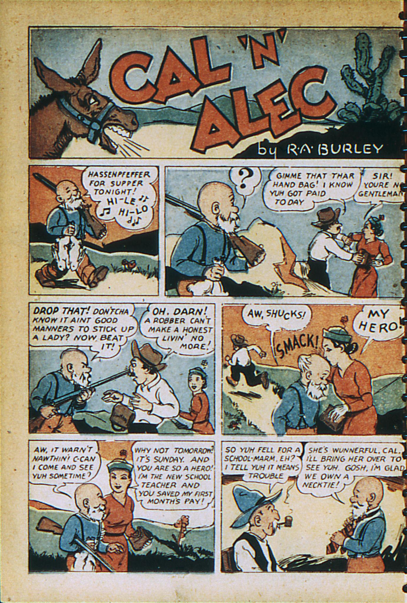 Read online Adventure Comics (1938) comic -  Issue #27 - 26