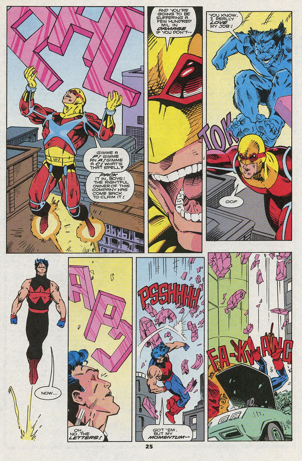 Read online Wonder Man (1991) comic -  Issue #5 - 20