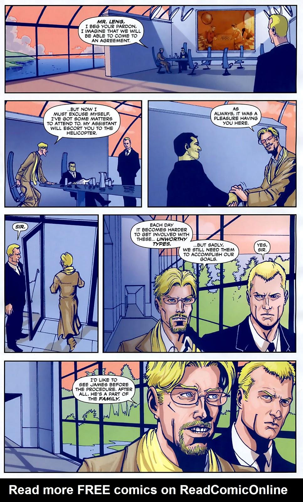 Read online Lazarus (2007) comic -  Issue #3 - 5