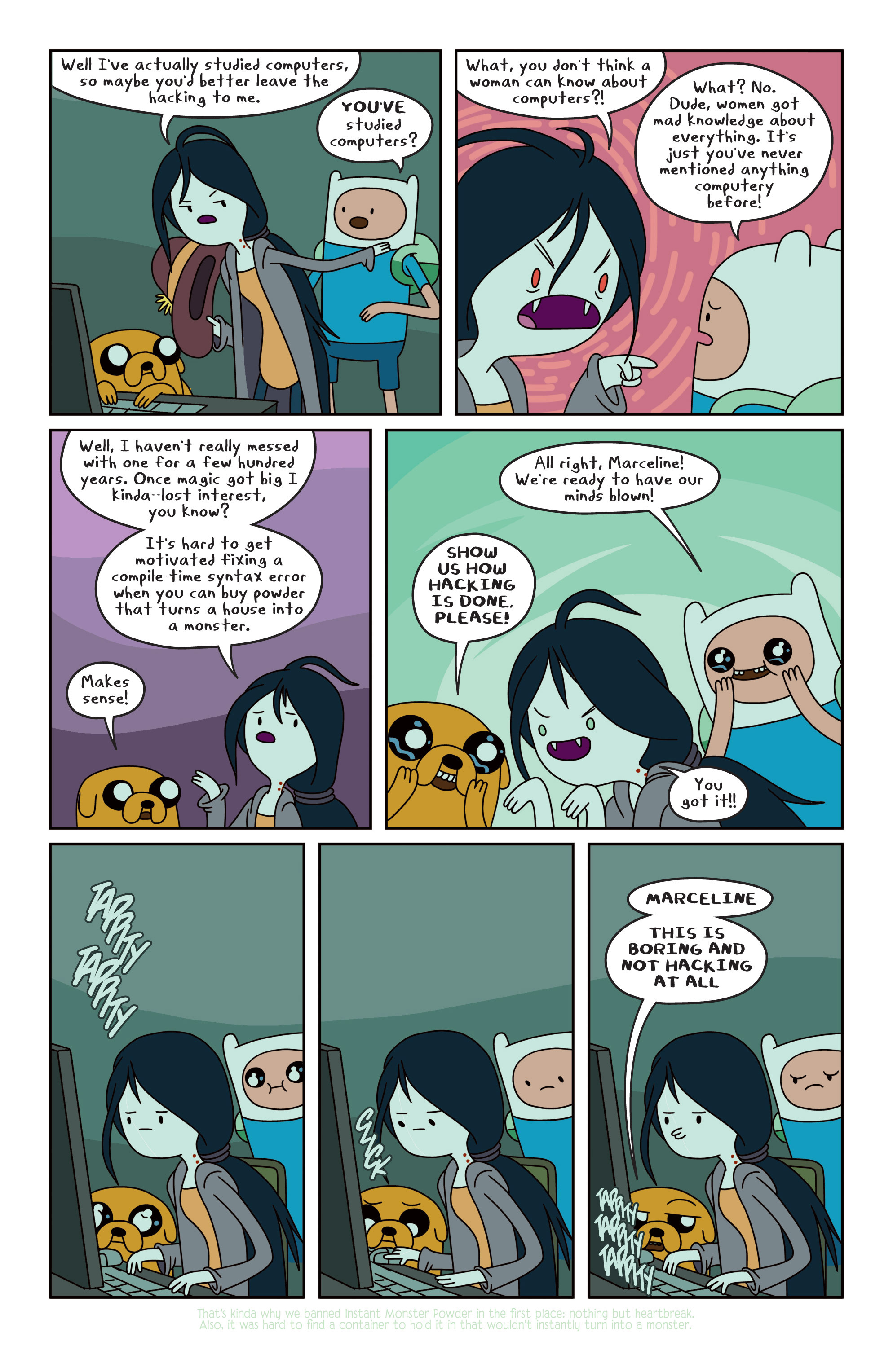 Read online Adventure Time comic -  Issue #13 - 16