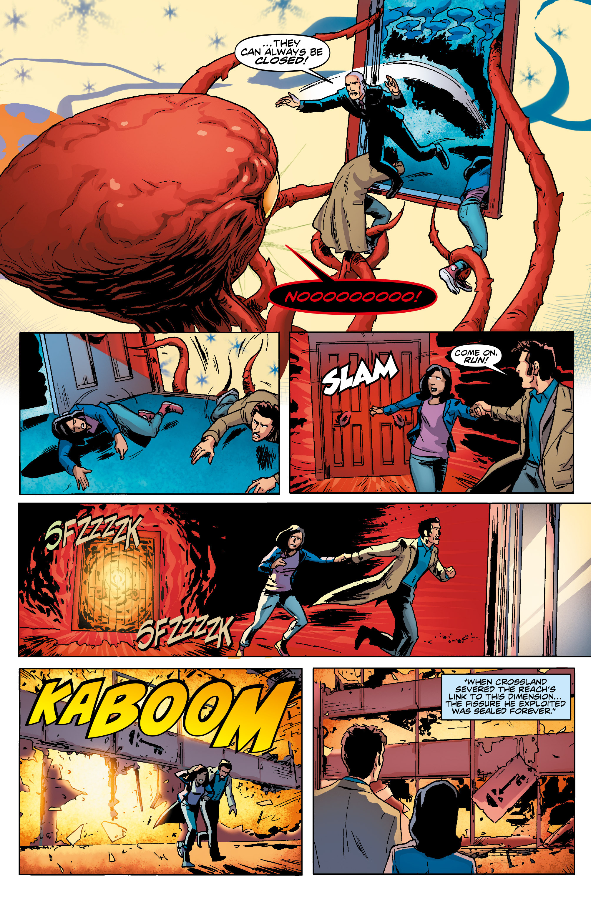 Read online Doctor Who: The Tenth Doctor Year Three comic -  Issue #5 - 27