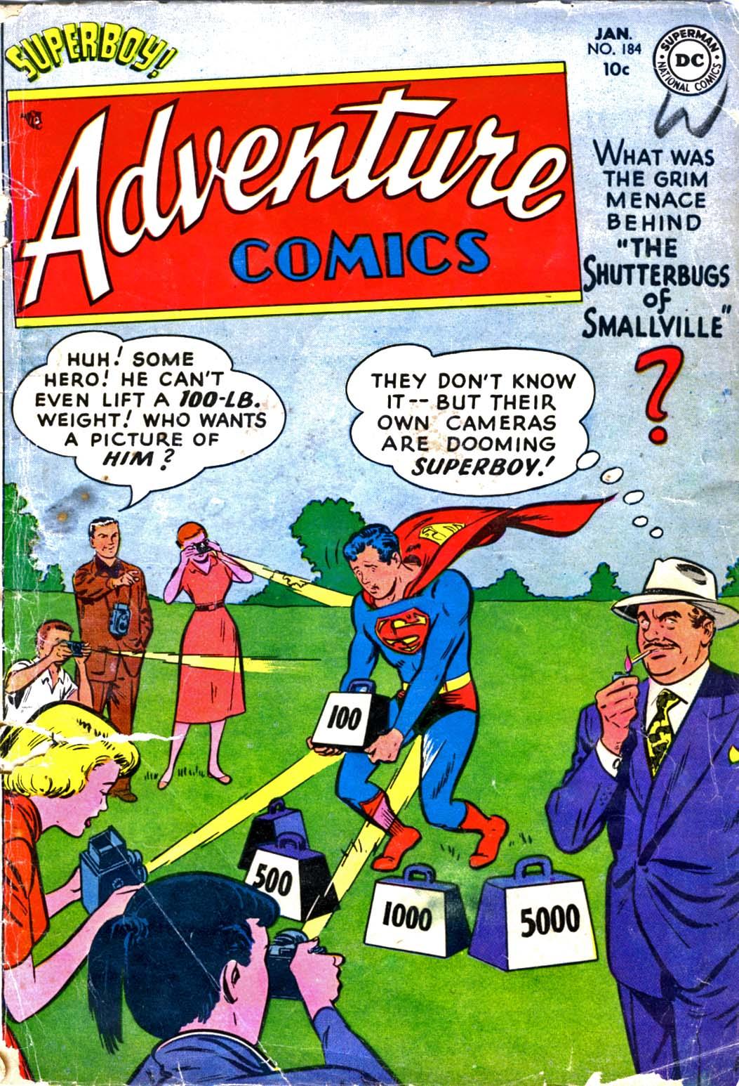 Read online Adventure Comics (1938) comic -  Issue #184 - 1