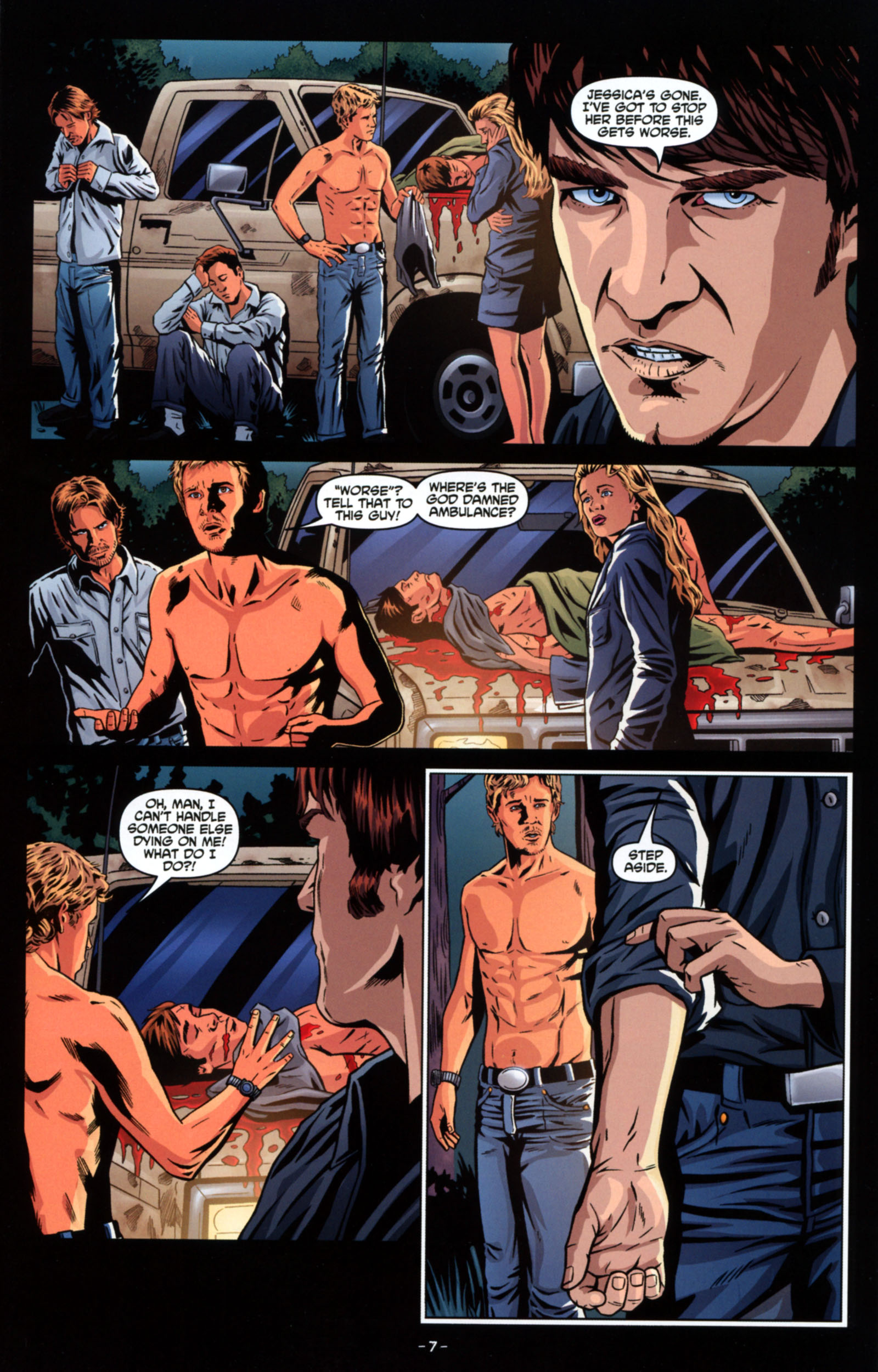 Read online True Blood: Tainted Love comic -  Issue #4 - 9