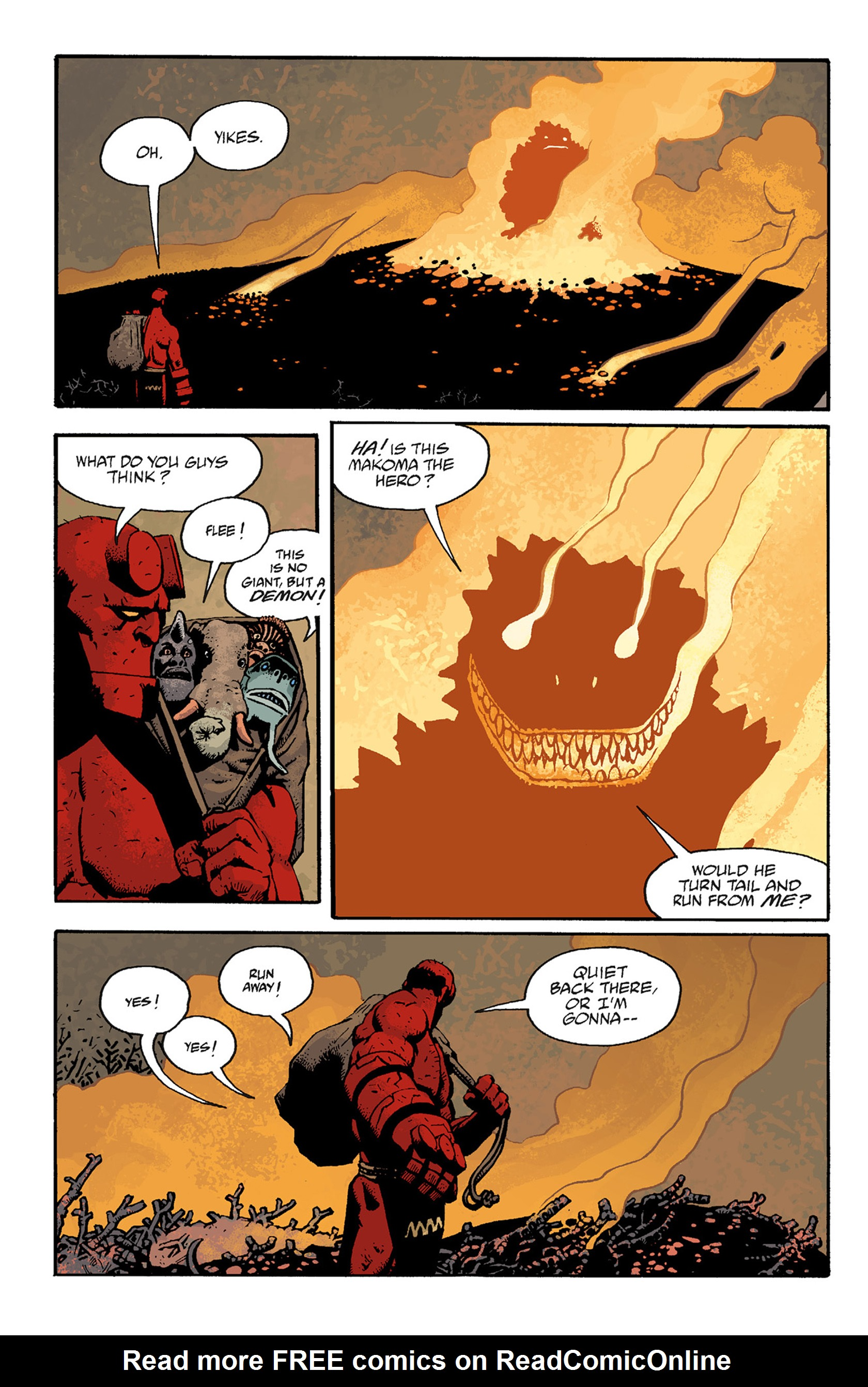 Read online Hellboy: The Troll Witch and Others comic -  Issue # TPB - 102