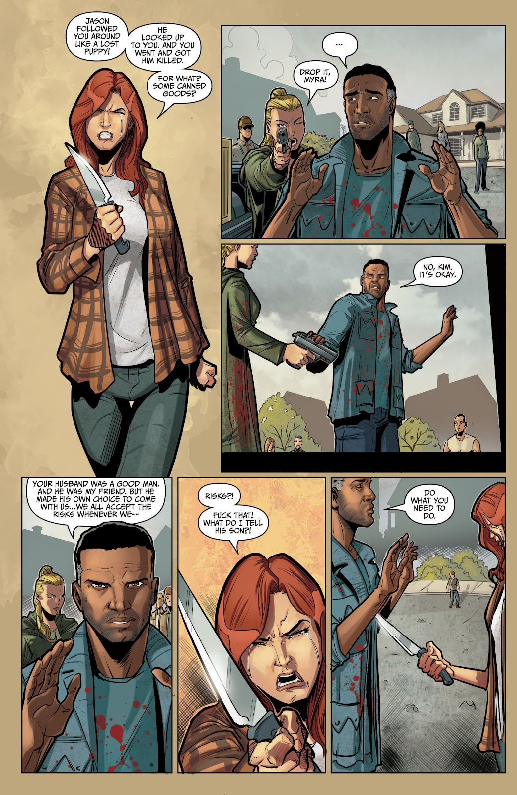 The Courier: Liberty & Death issue 2 - Page 9