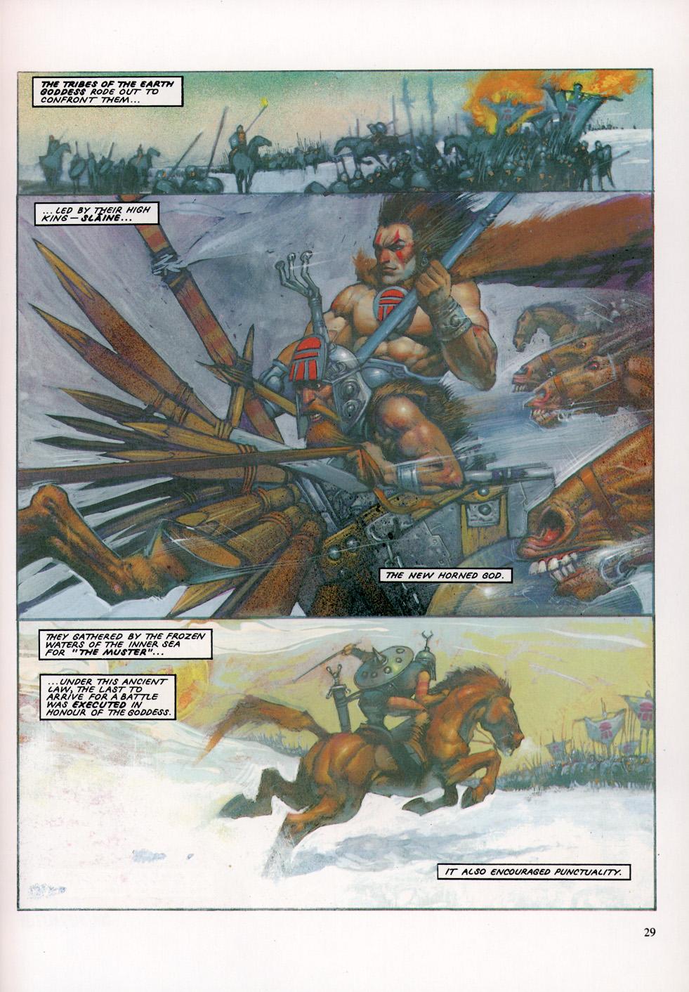 Read online Slaine: The Horned God (1993) comic -  Issue #4 - 30