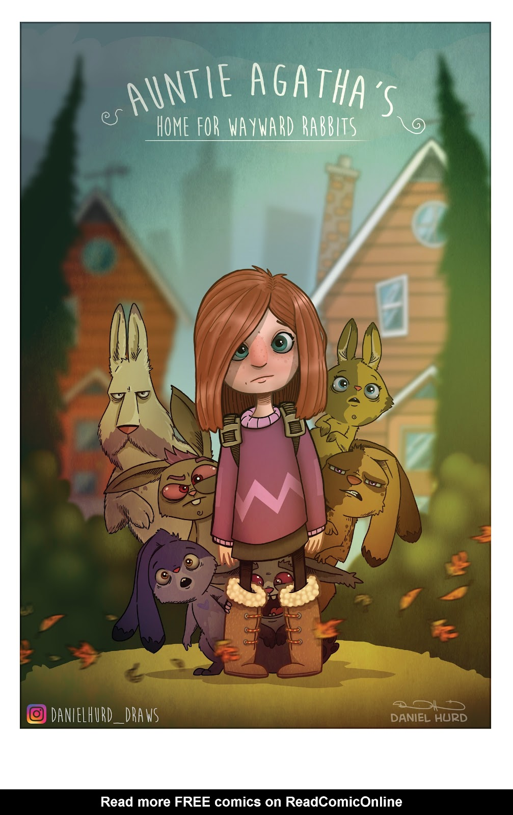 Read online Auntie Agatha's Home For Wayward Rabbits comic -  Issue #4 - 23