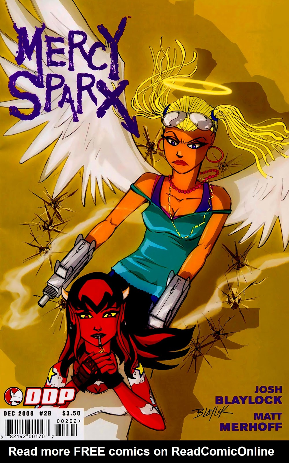 Read online Mercy Sparx (2008) comic -  Issue #2 - 1