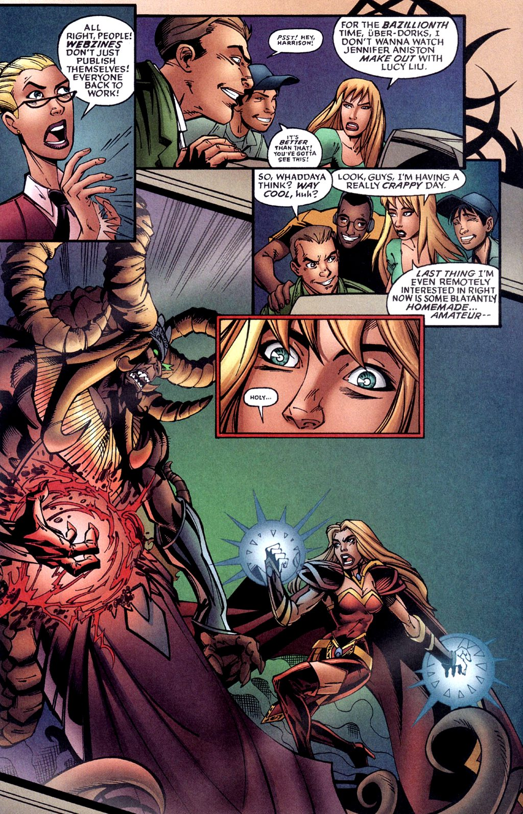 Read online Jezebelle comic -  Issue #1 - 13