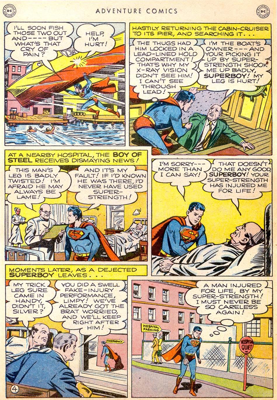 Read online Adventure Comics (1938) comic -  Issue #144 - 5