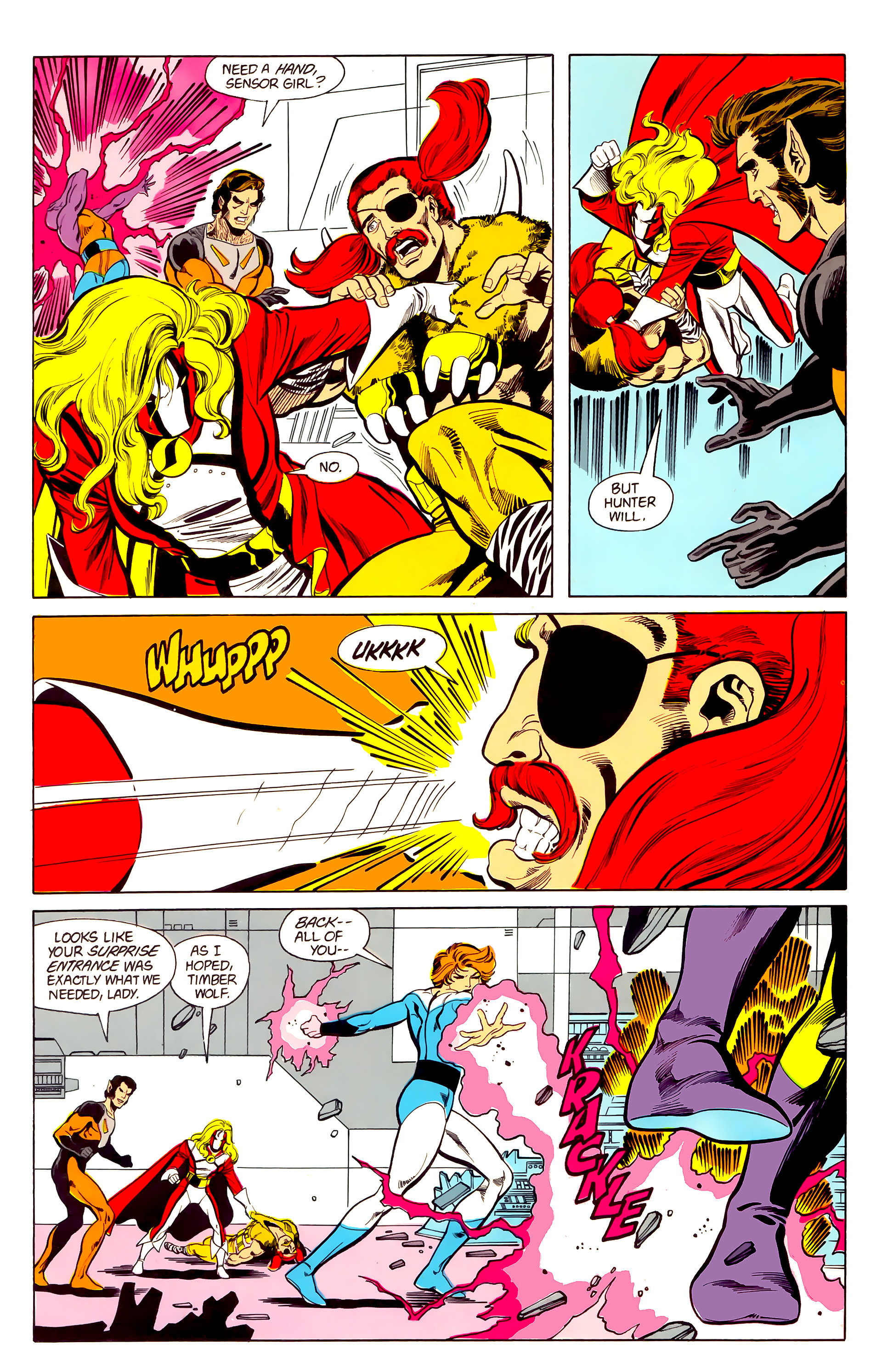 Legion of Super-Heroes (1984) 21 Page 20