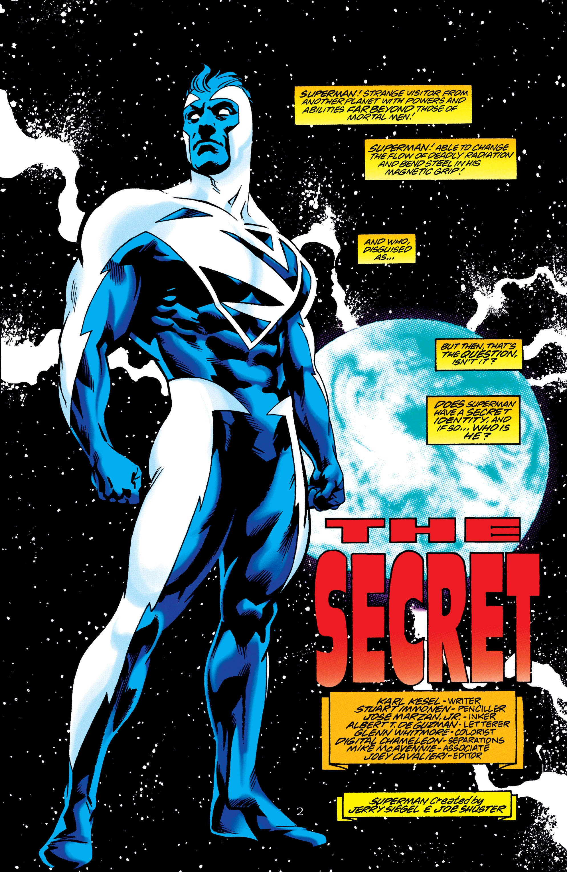 Adventures of Superman (1987) issue 550 - Page 3