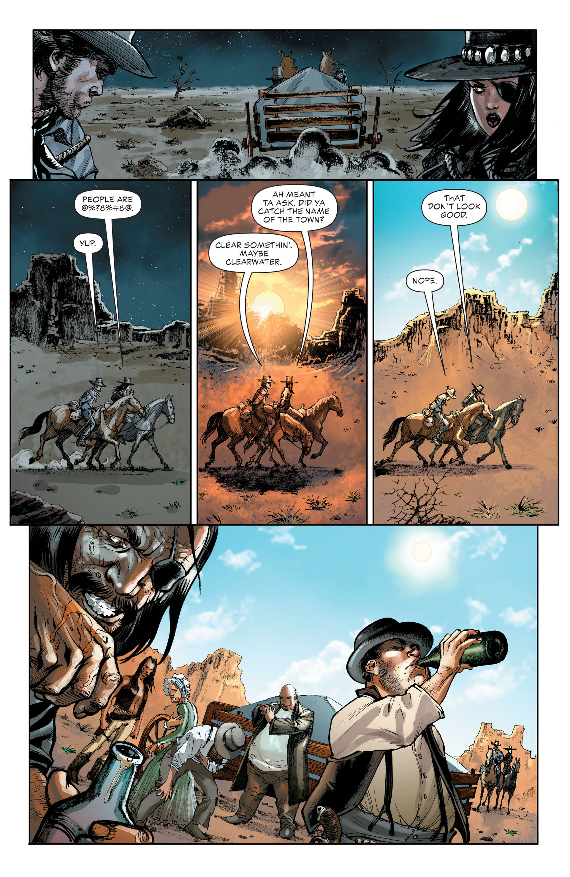 Read online All-Star Western (2011) comic -  Issue #32 - 20