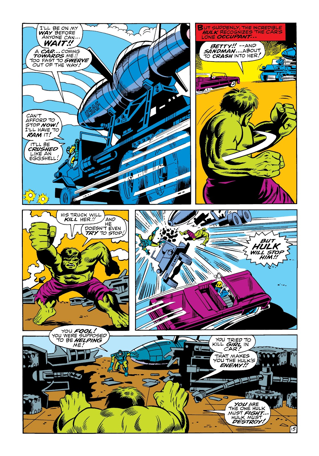 Read online Marvel Masterworks: The Incredible Hulk comic -  Issue # TPB 5 (Part 1) - 63