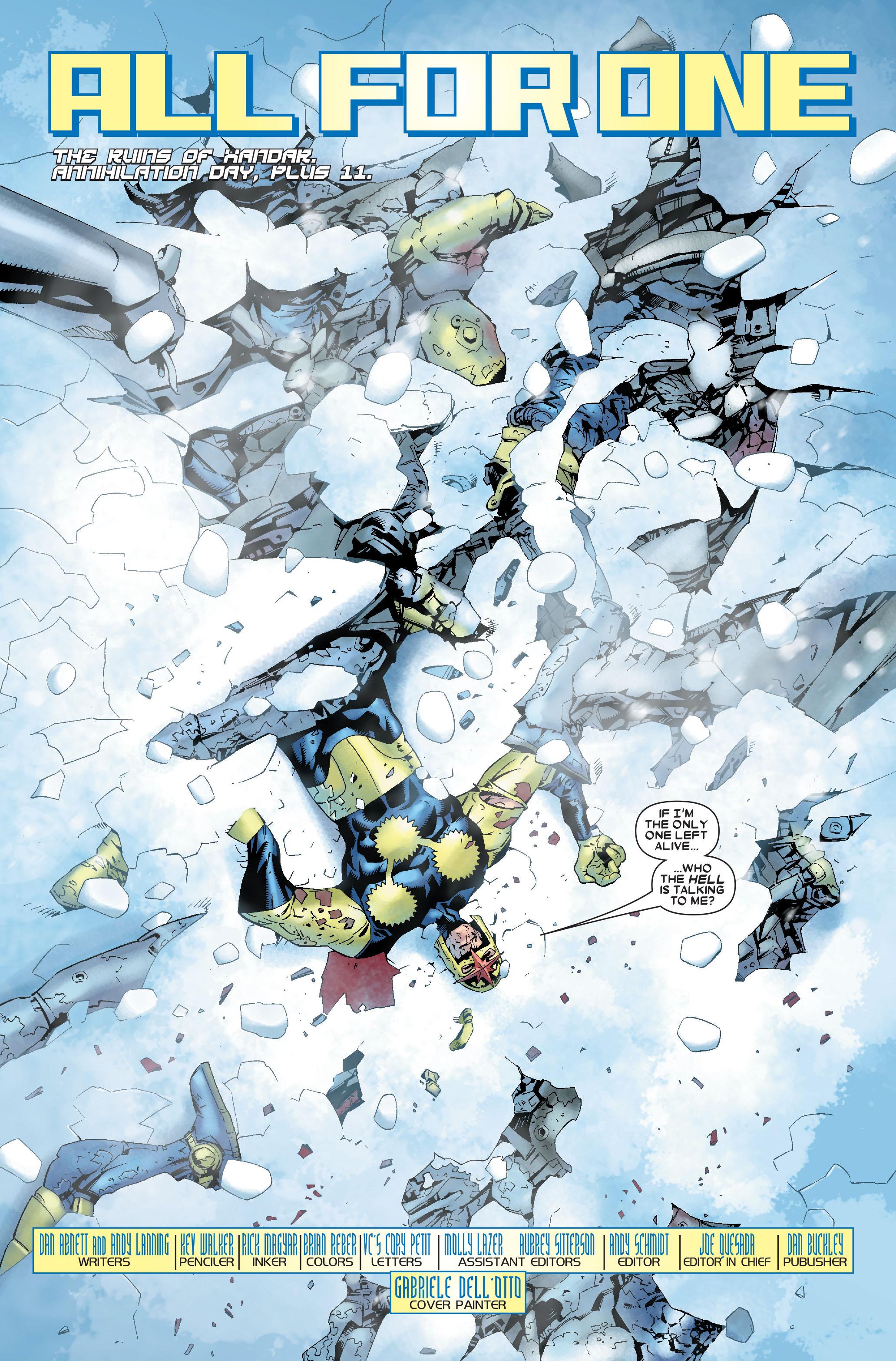 Read online Annihilation: Nova comic -  Issue #1 - 5