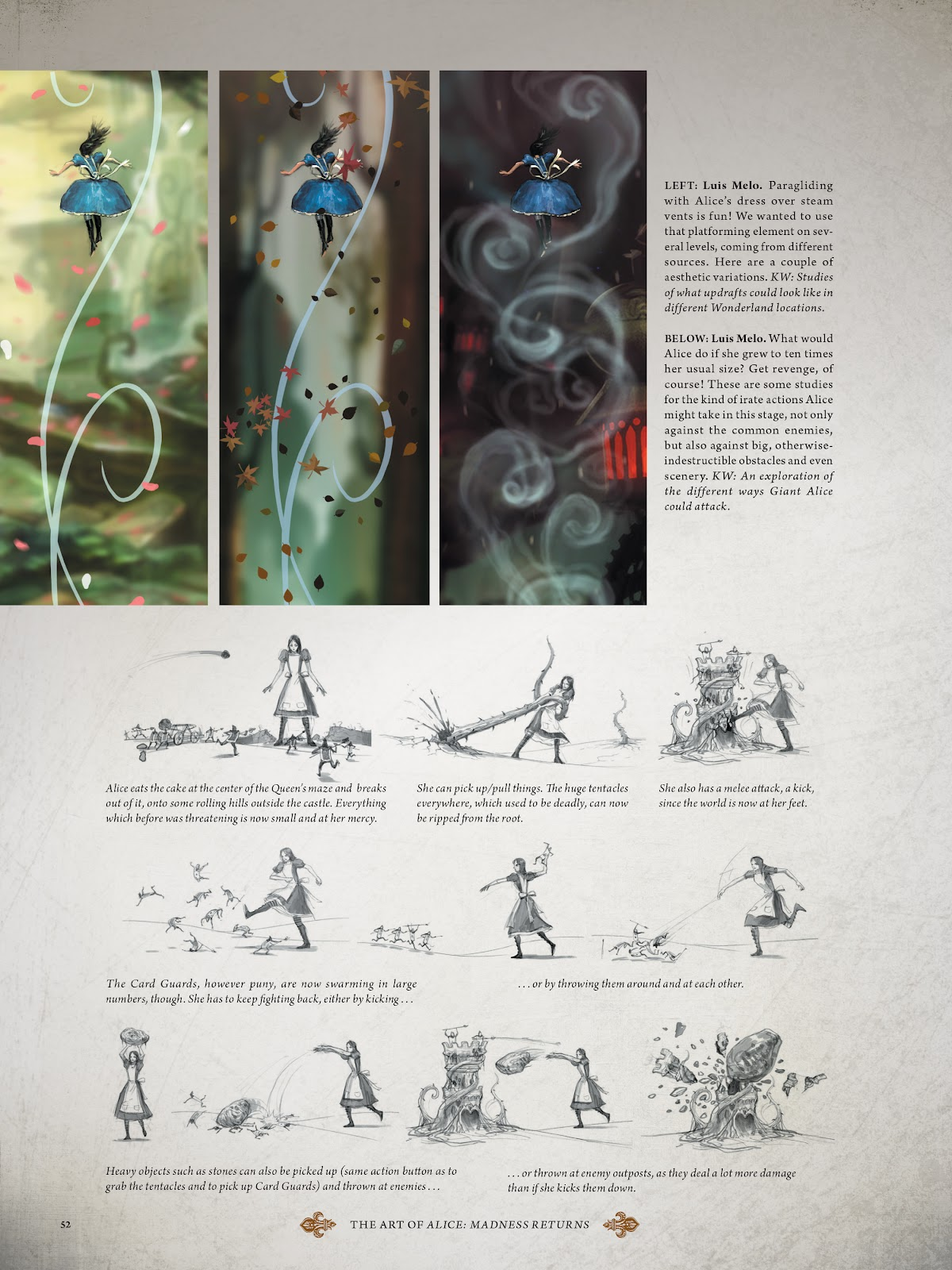 Read online The Art of Alice: Madness Returns comic -  Issue # TPB (Part 1) - 49