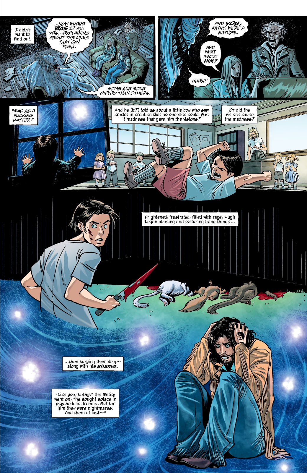 Read online The Girl In The Bay comic -  Issue #4 - 15