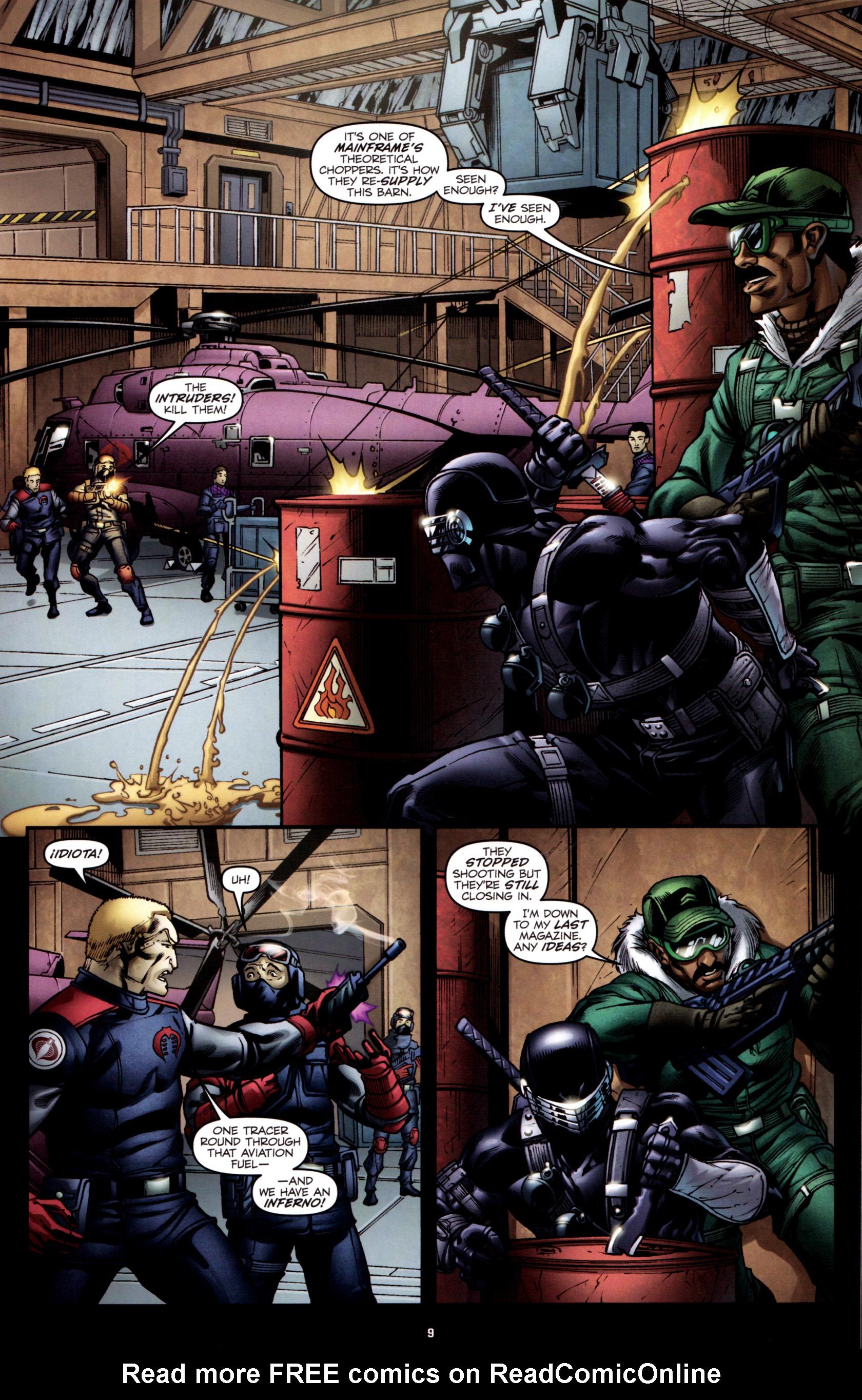 Read online G.I. Joe: Snake Eyes comic -  Issue #2 - 12