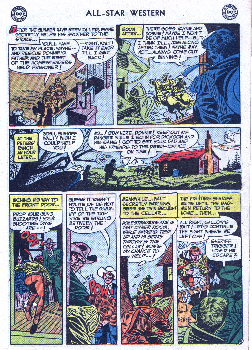 Read online All-Star Western (1951) comic -  Issue #71 - 15