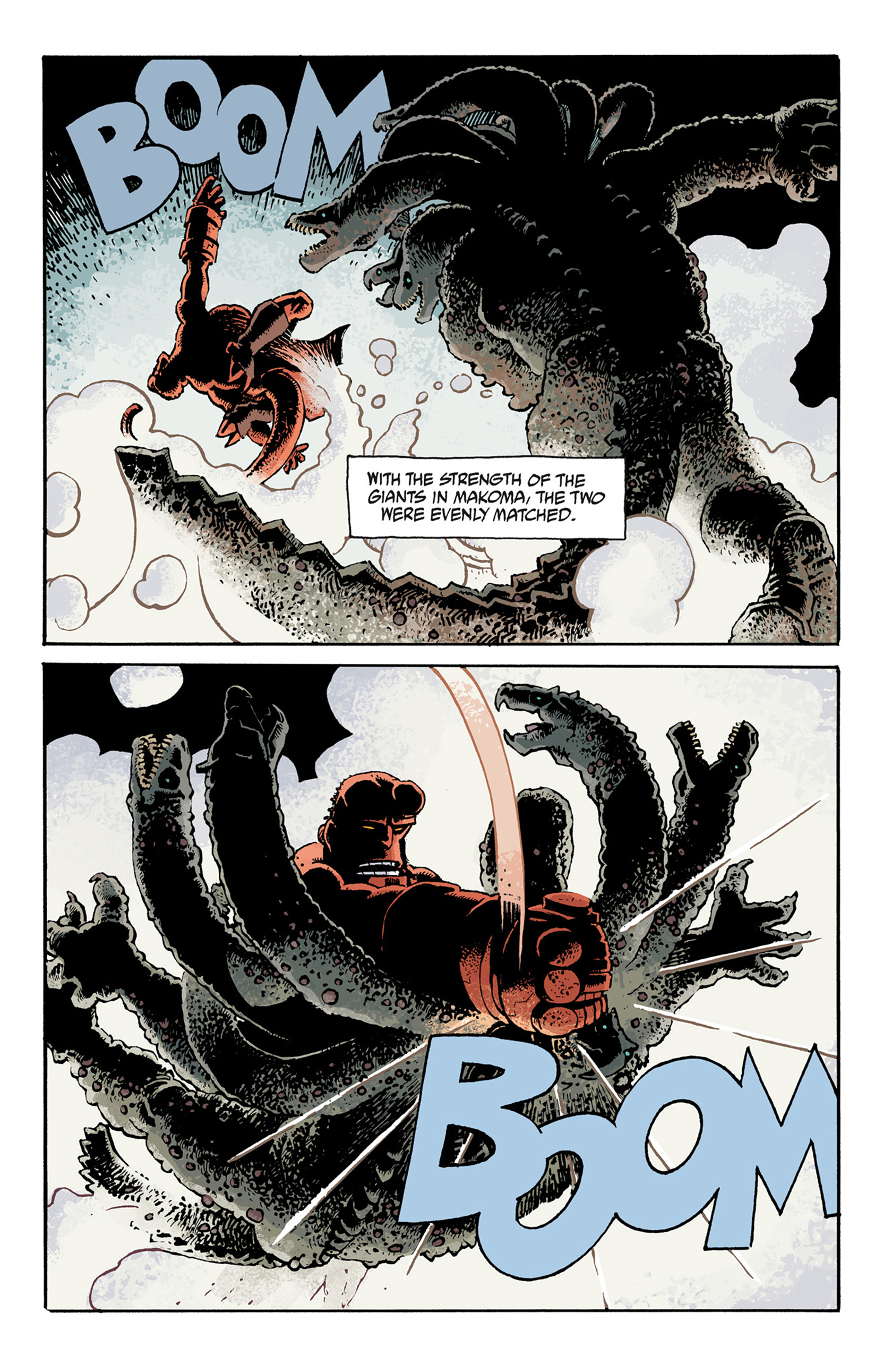 Read online Hellboy: The Troll Witch and Others comic -  Issue # TPB - 125