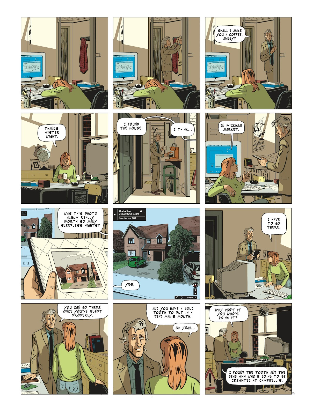 Read online Maggy Garrisson comic -  Issue #3 - 37