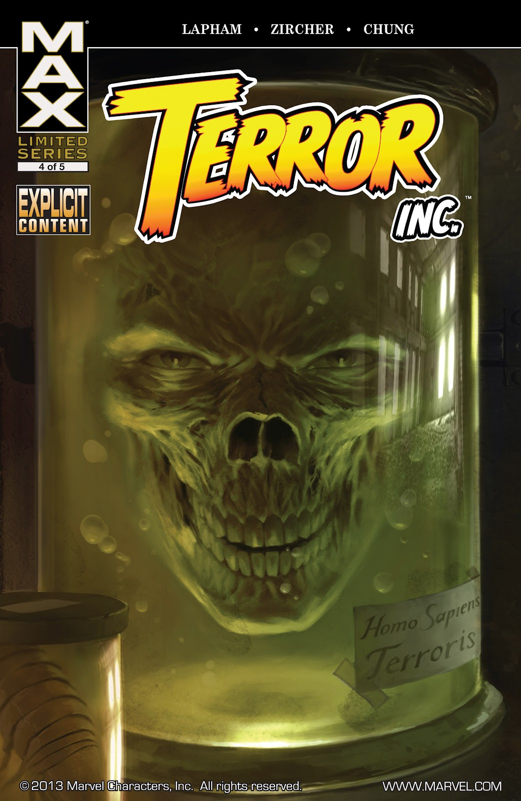 Terror, Inc. (2007) issue 4 - Page 1