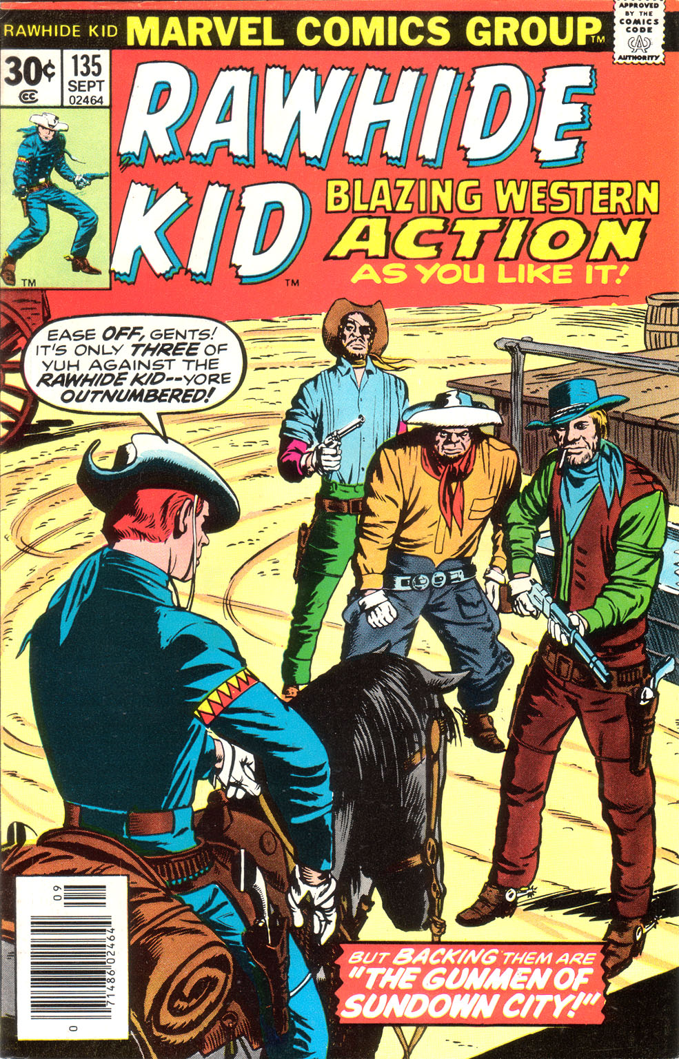 The Rawhide Kid (1955) issue 135 - Page 1
