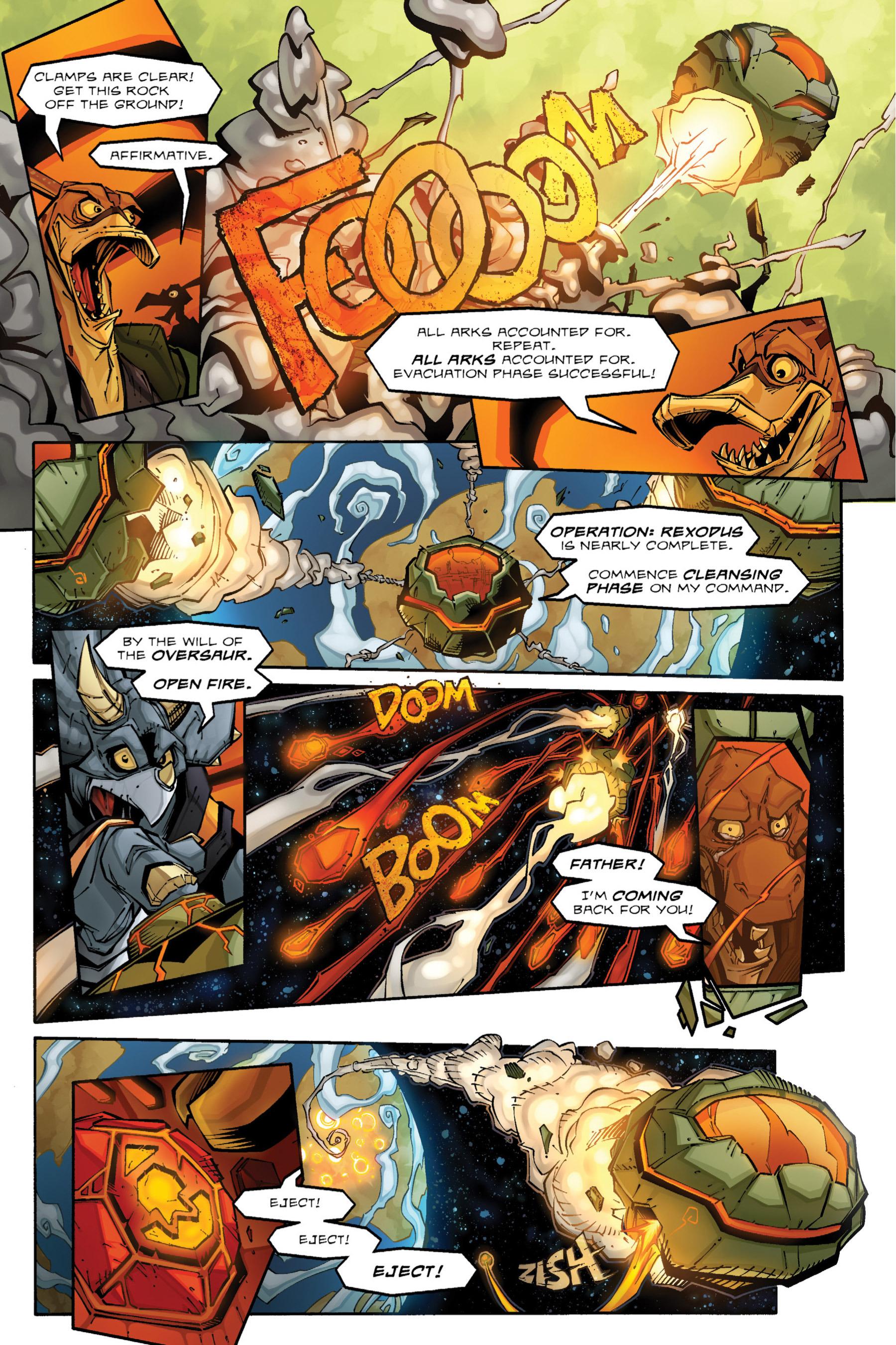 Read online Rexodus comic -  Issue # Full - 14