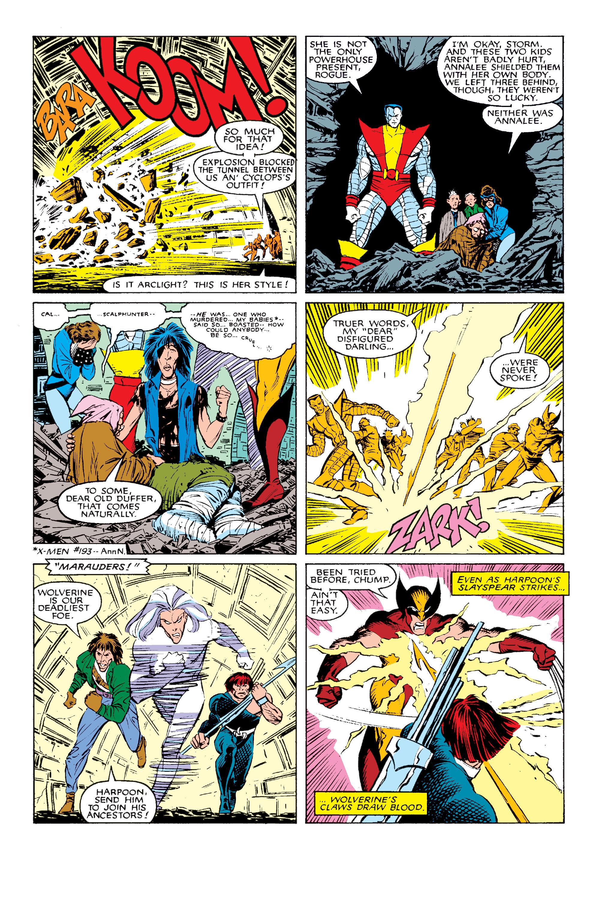 Read online Uncanny X-Men (1963) comic -  Issue #211 - 19
