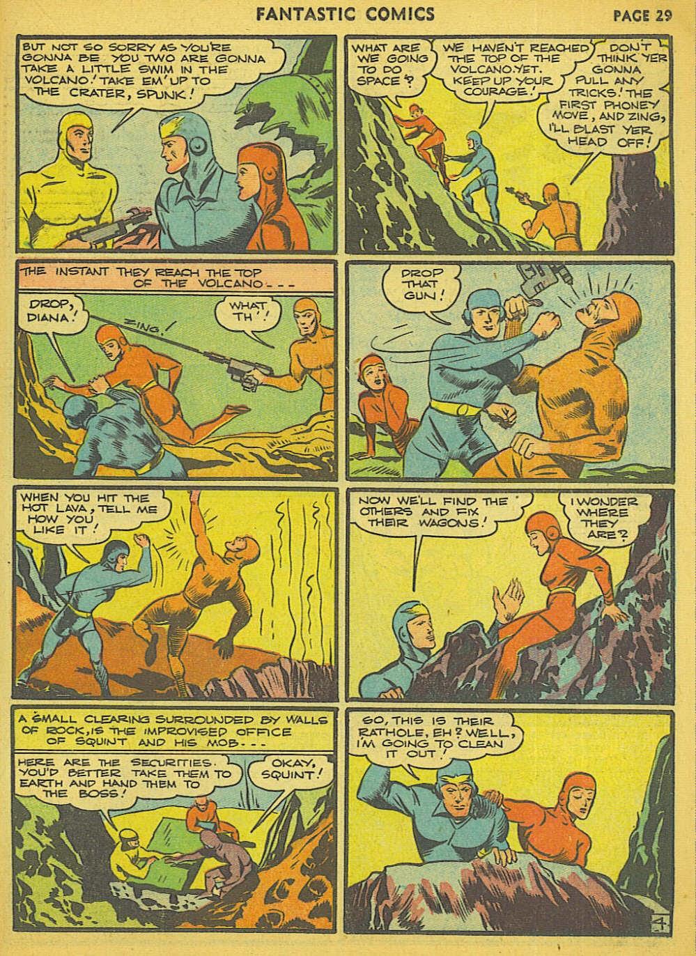 Read online Fantastic Comics comic -  Issue #15 - 23