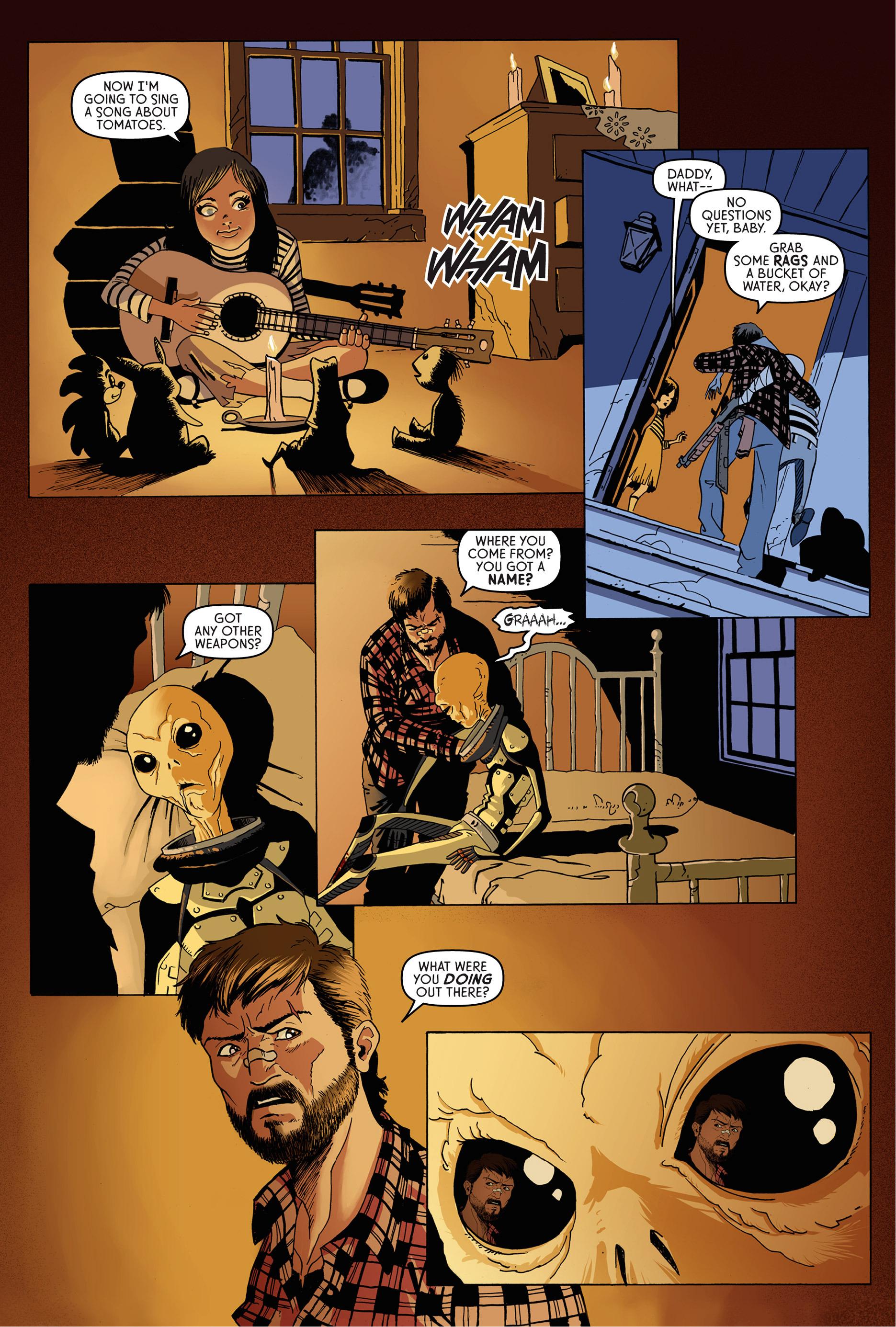 Read online Trespasser comic -  Issue #1 - 10