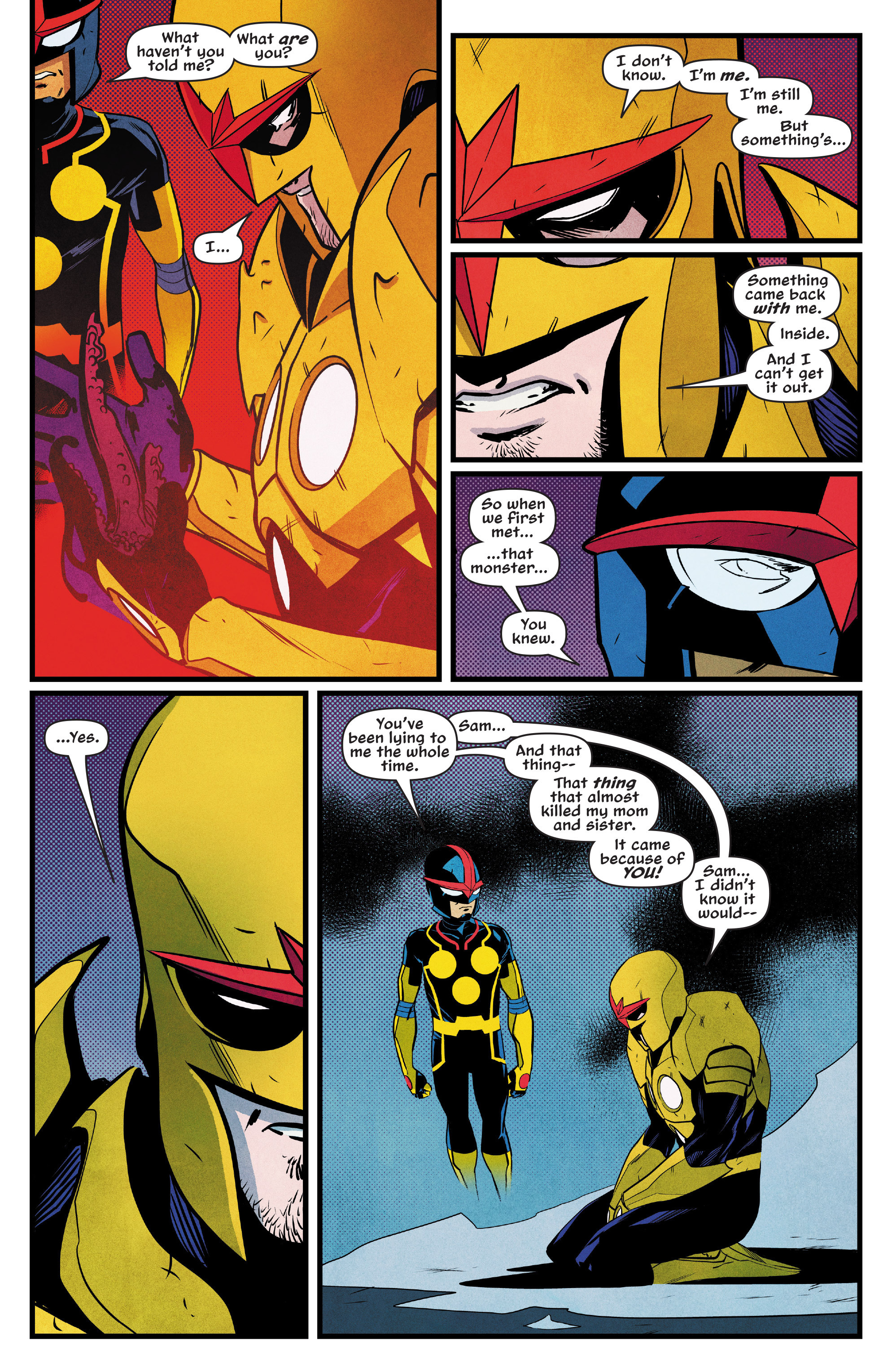 Read online Nova (2017) comic -  Issue #5 - 13