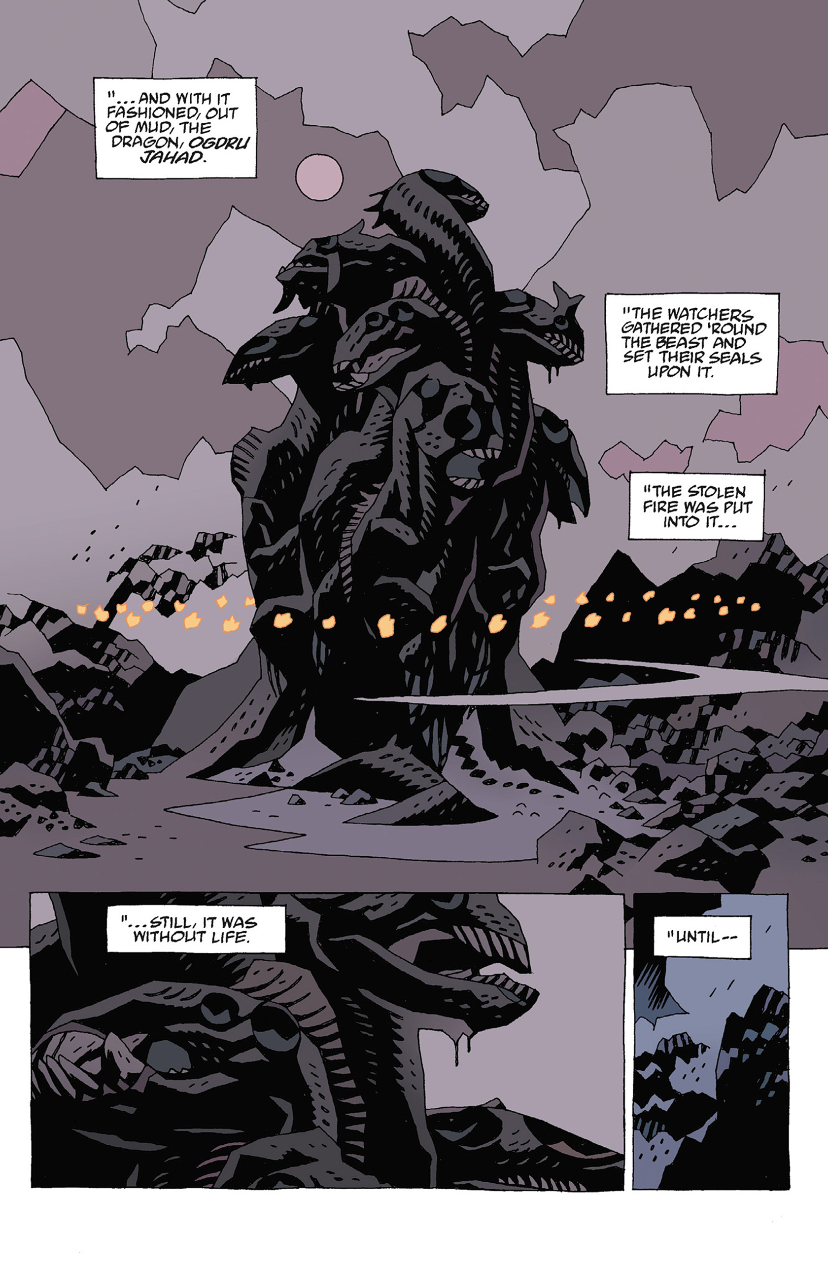 Read online Hellboy: Strange Places comic -  Issue # TPB - 105