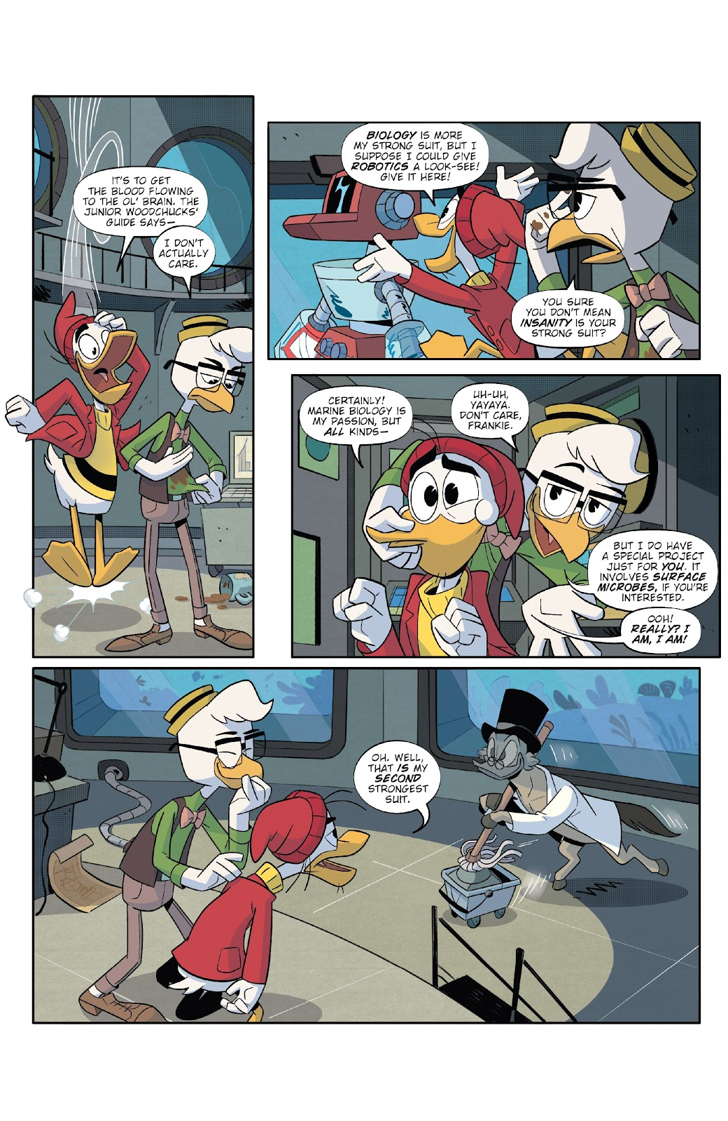 Read online Ducktales (2017) comic -  Issue #20 - 9